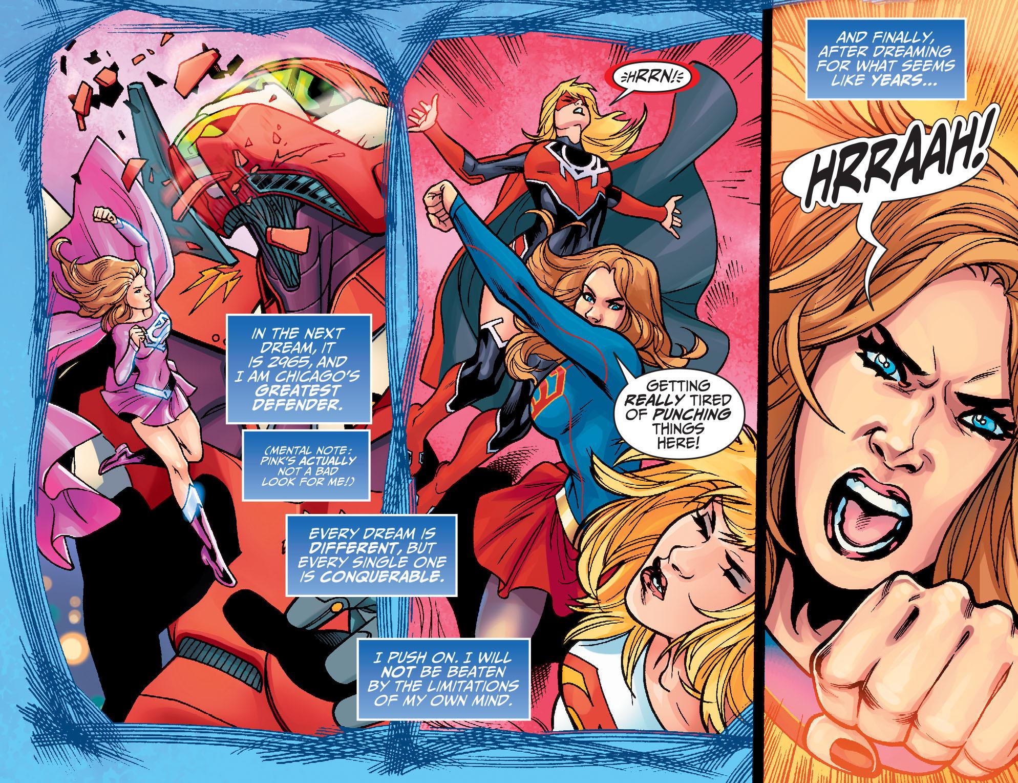 Read online Adventures of Supergirl comic -  Issue #7 - 10