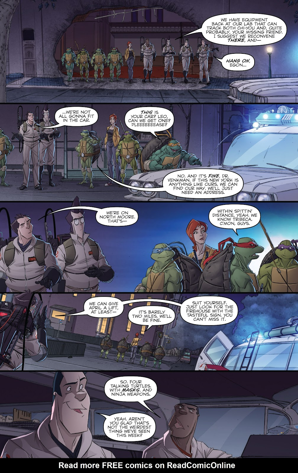 Read online Teenage Mutant Ninja Turtles: The IDW Collection comic -  Issue # TPB 5 (Part 3) - 2
