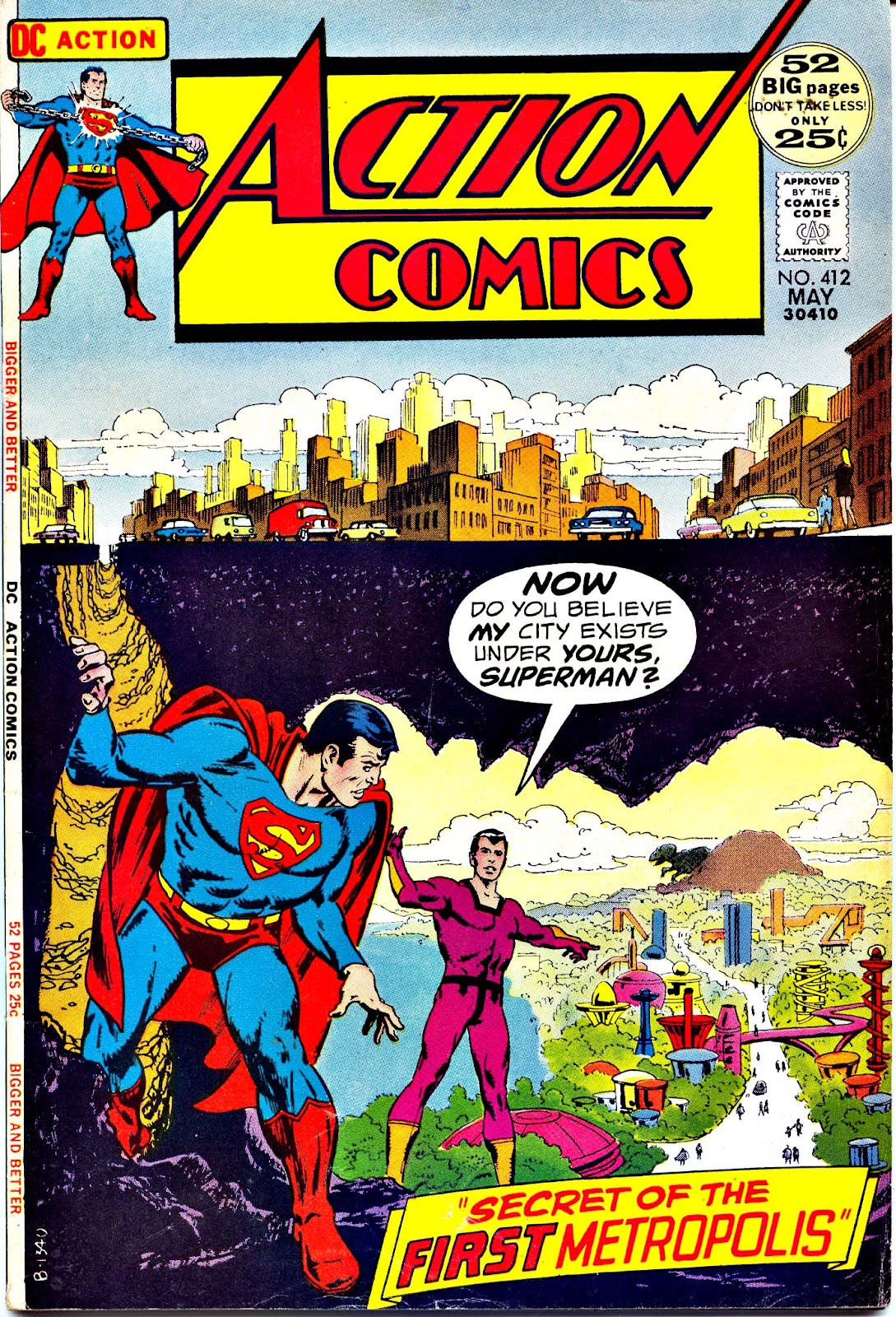 Action Comics (1938) 412 Page 1