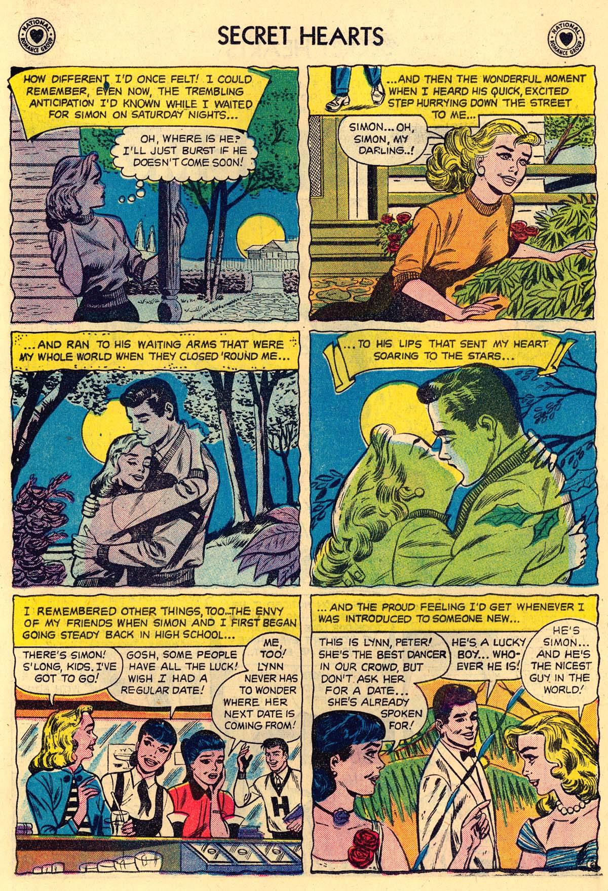 Read online Secret Hearts comic -  Issue #43 - 18