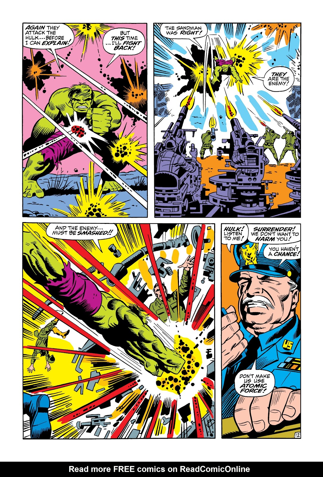 Read online Marvel Masterworks: The Incredible Hulk comic -  Issue # TPB 5 (Part 1) - 60