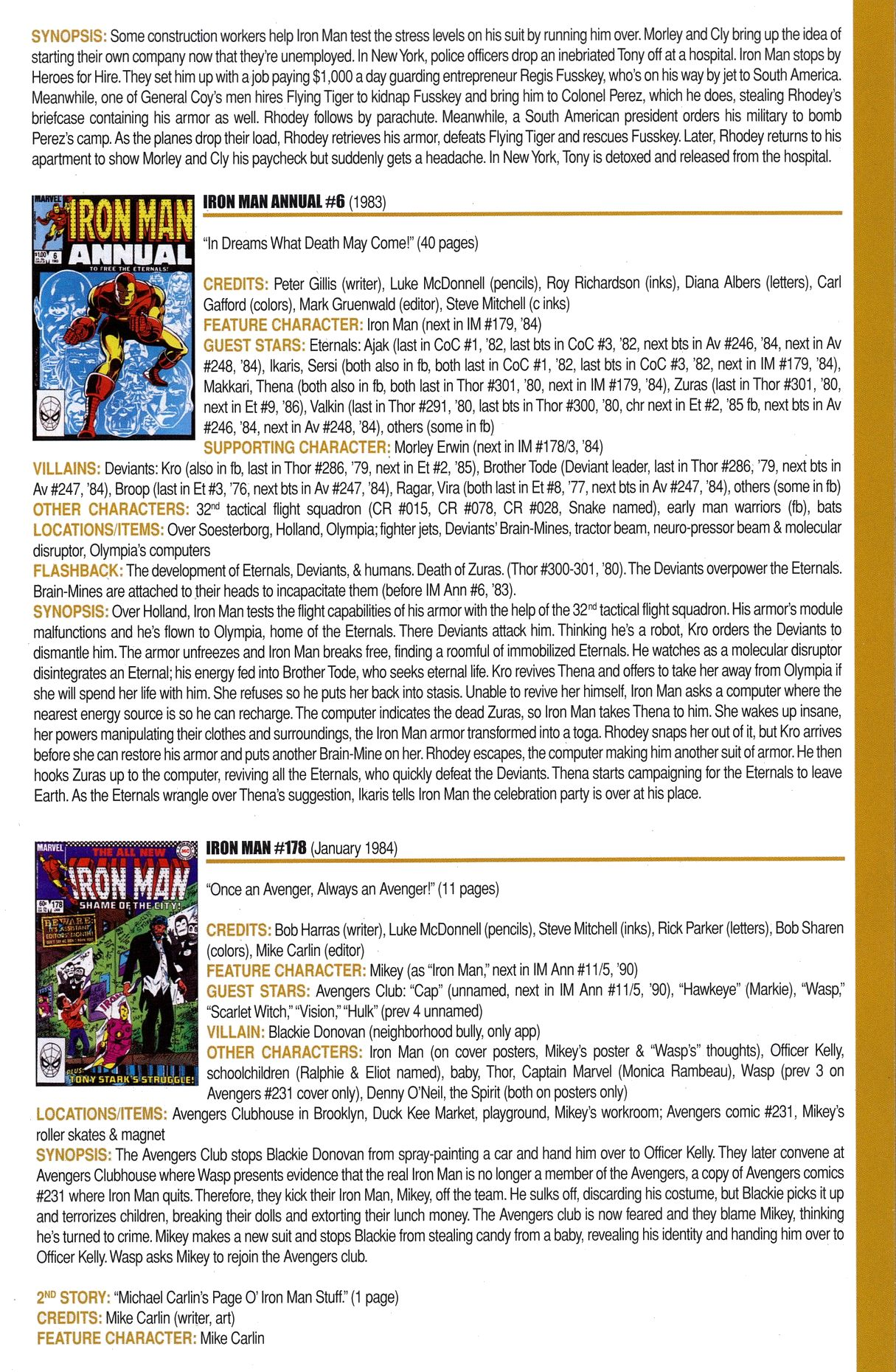 Read online Official Index to the Marvel Universe comic -  Issue #6 - 27