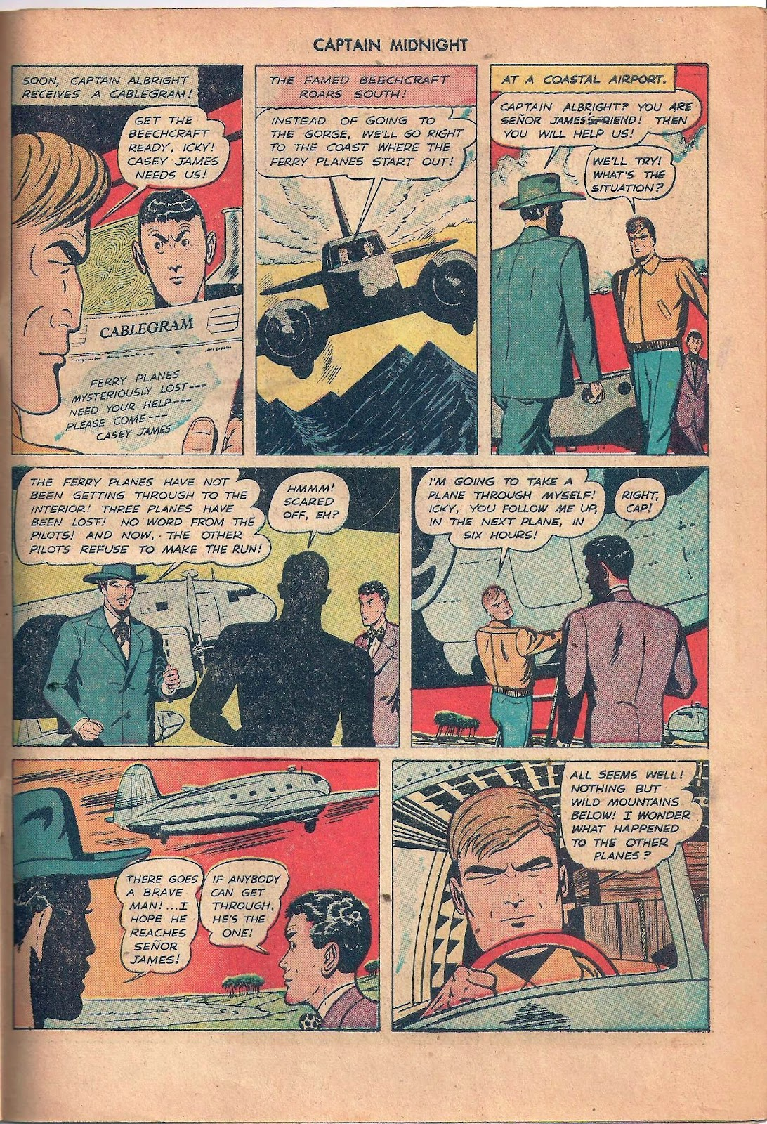 Captain Midnight (1942) issue 53 - Page 43