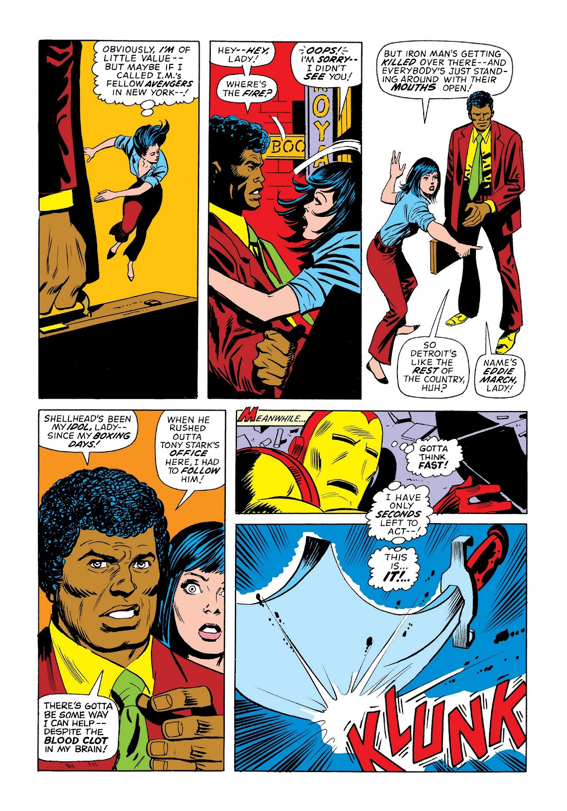 Read online Marvel Masterworks: The Invincible Iron Man comic -  Issue # TPB 9 (Part 3) - 38