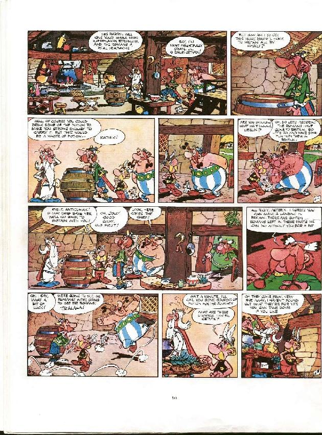 Read online Asterix comic -  Issue #8 - 7