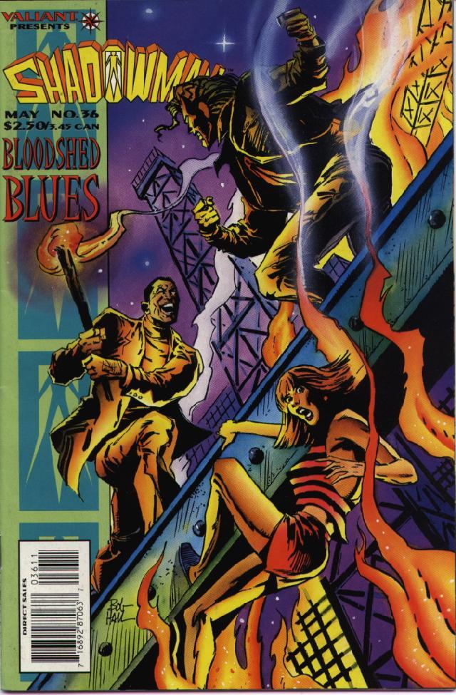 Read online Shadowman (1992) comic -  Issue #36 - 1