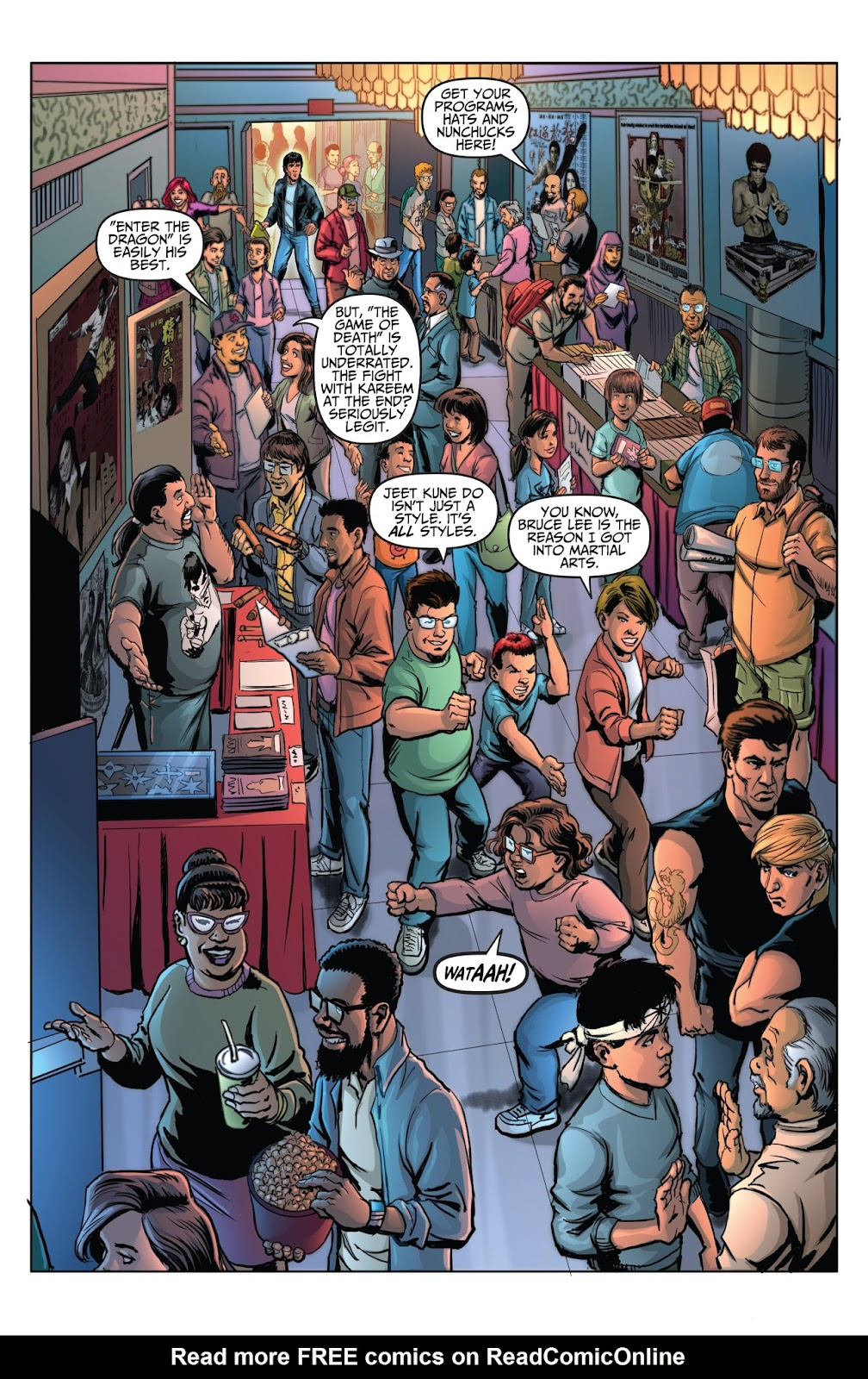 Bruce Lee: Walk of the Dragon issue Full - Page 13