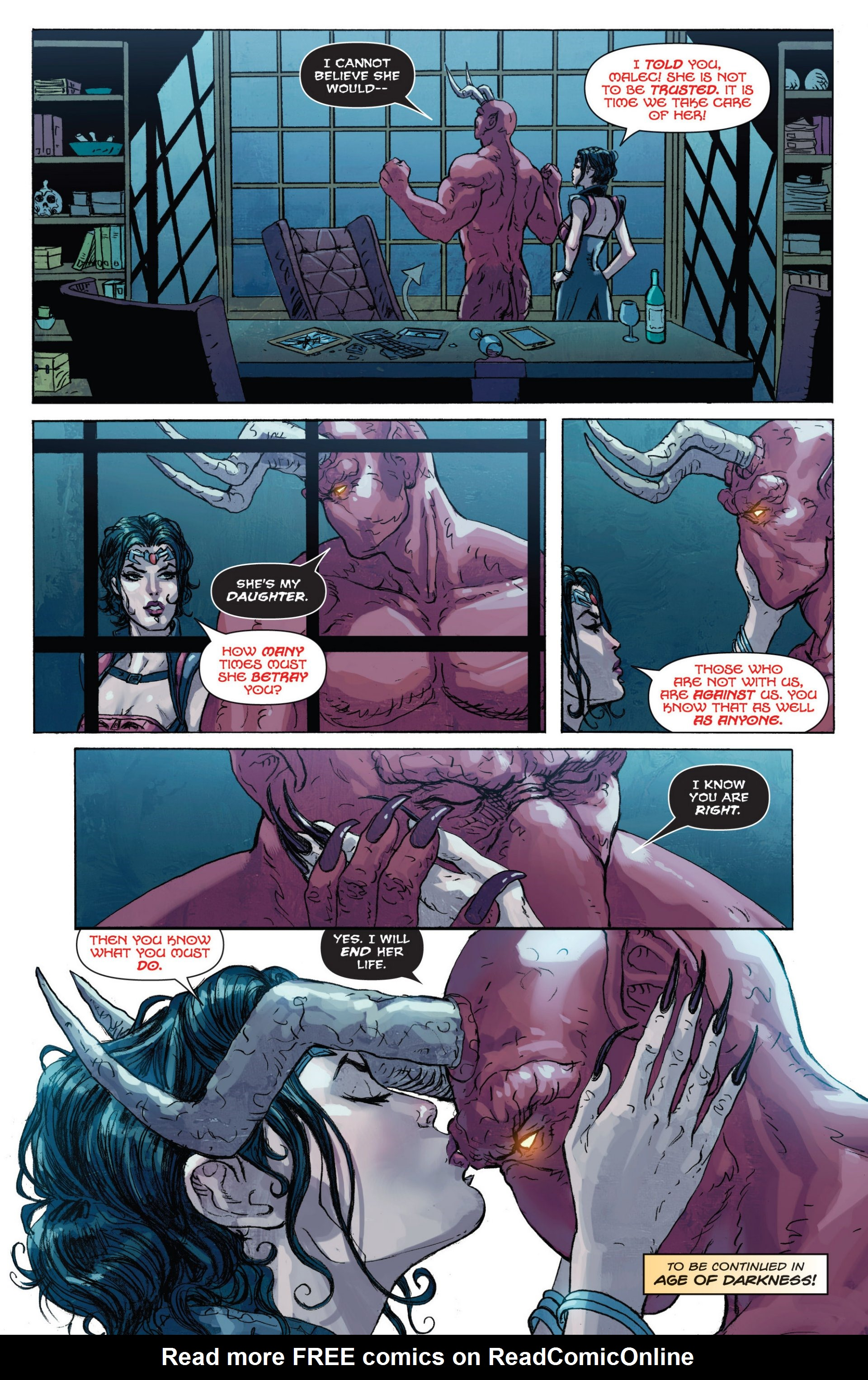 Read online Grimm Fairy Tales presents Inferno: Age of Darkness comic -  Issue # Full - 43