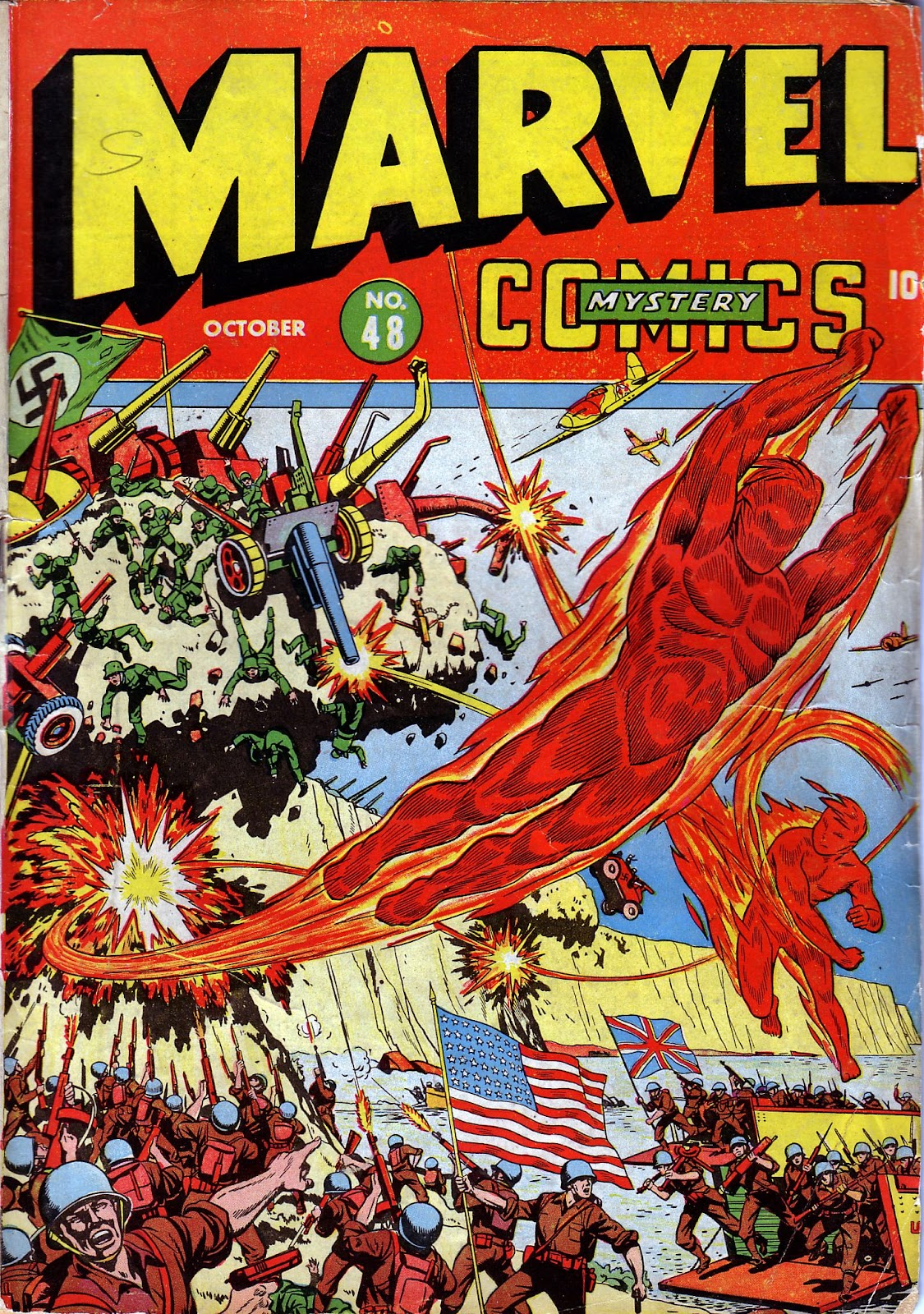 Marvel Mystery Comics 48 Page 1