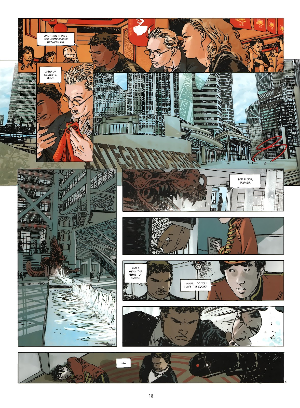 Read online Cutting Edge (2013) comic -  Issue #3 - 17