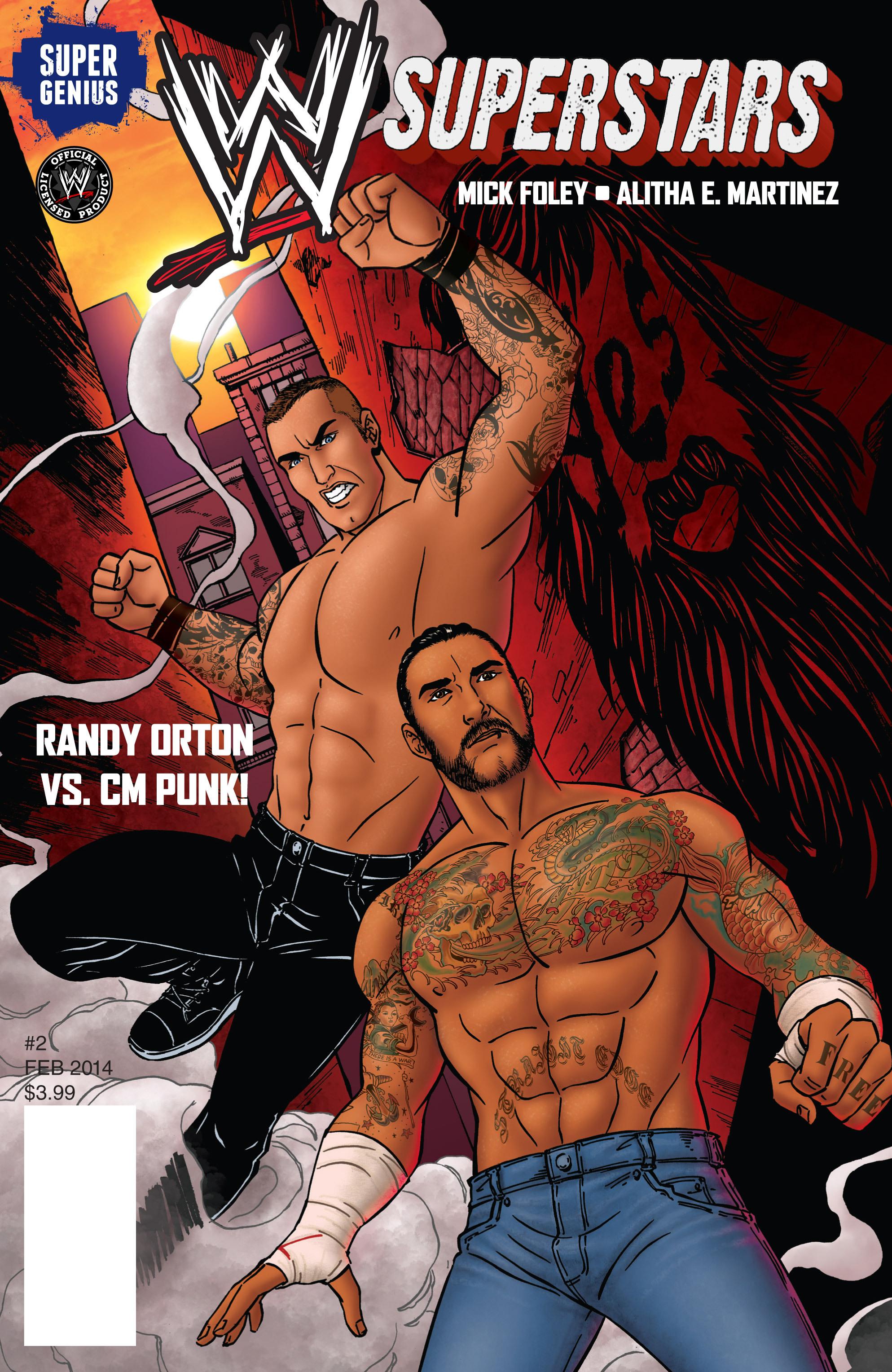 Read online WWE Superstars comic -  Issue #2 - 1