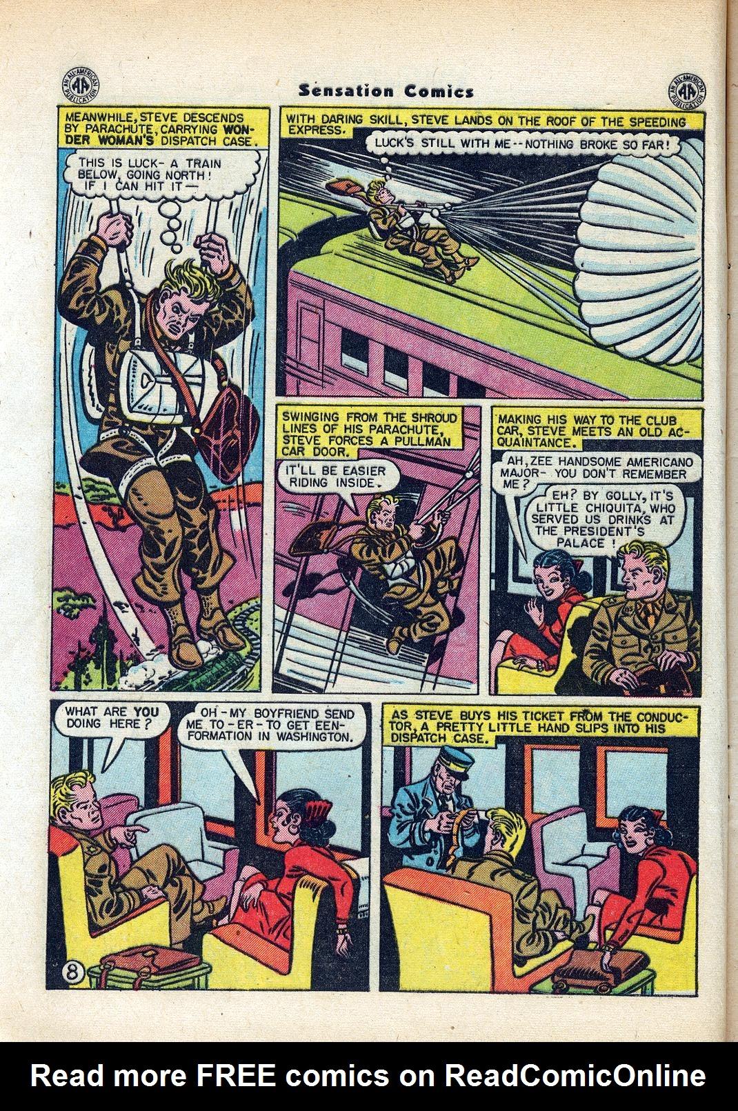 Read online Sensation (Mystery) Comics comic -  Issue #45 - 10