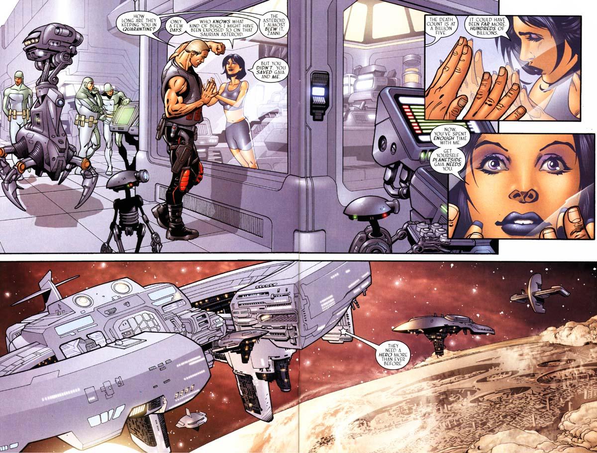 Read online Sigil (2000) comic -  Issue #24 - 5