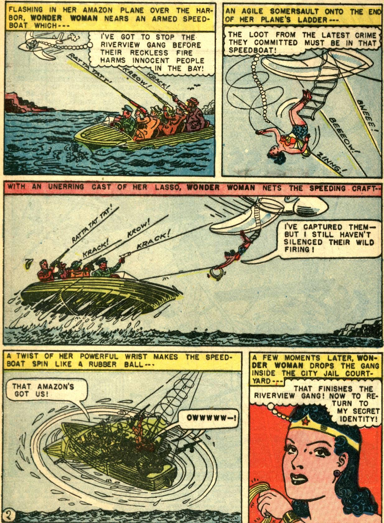 Read online Wonder Woman (1942) comic -  Issue #67 - 4
