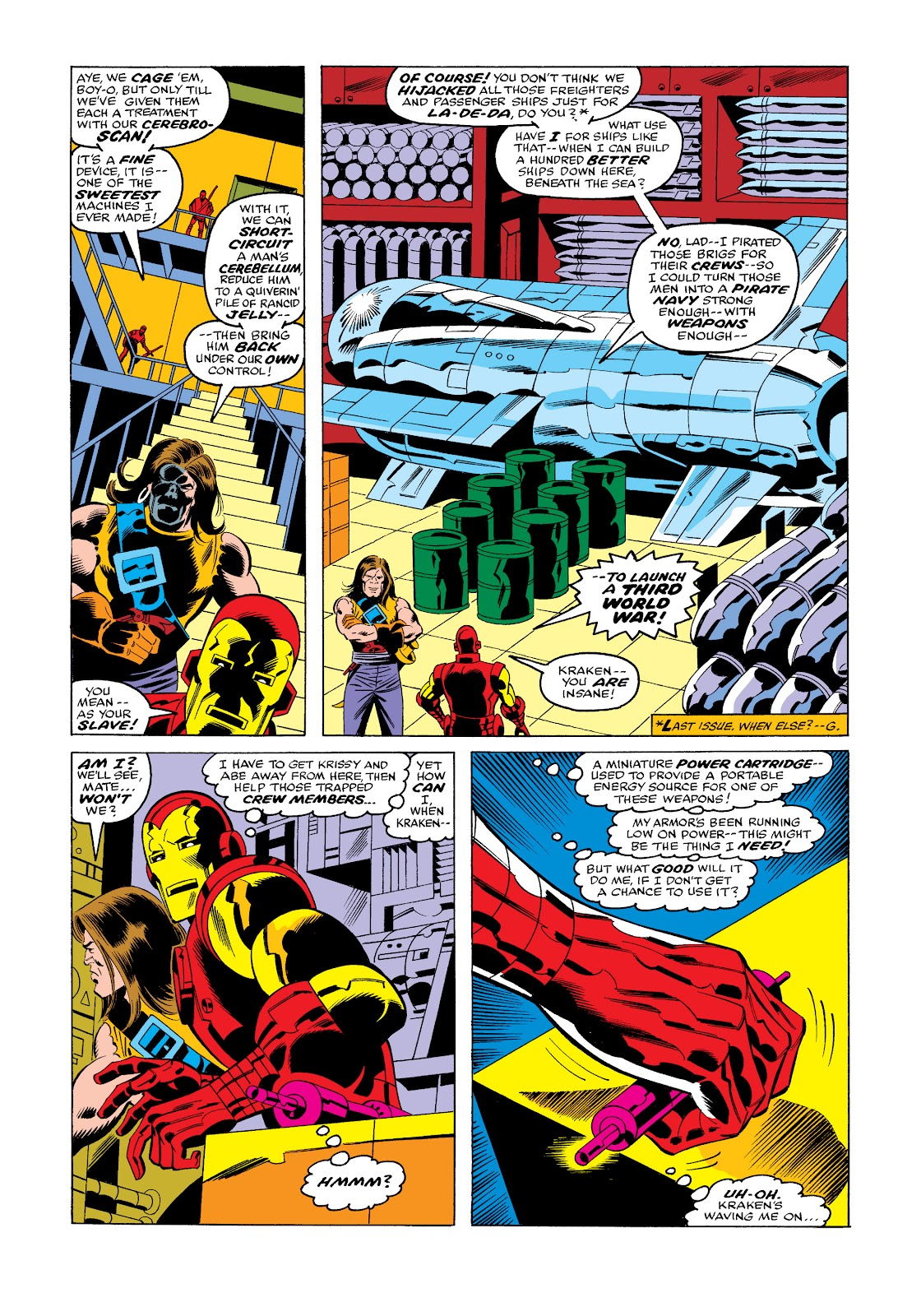Read online Marvel Masterworks: The Invincible Iron Man comic -  Issue # TPB 11 (Part 3) - 71