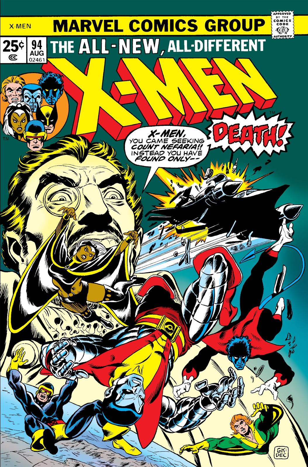 Uncanny X-Men (1963) issue 94 - Page 1