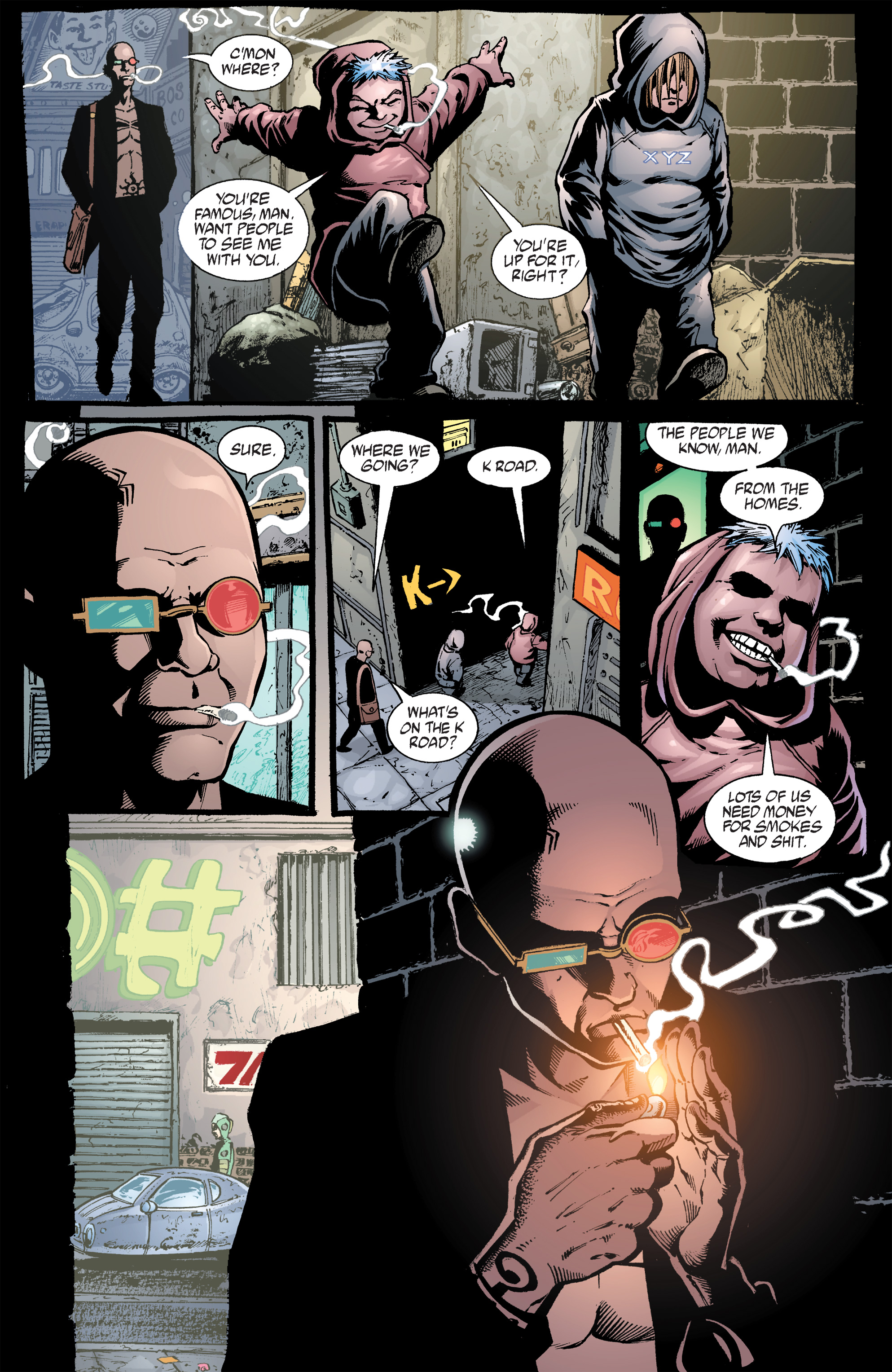 Read online Transmetropolitan comic -  Issue #40 - 12