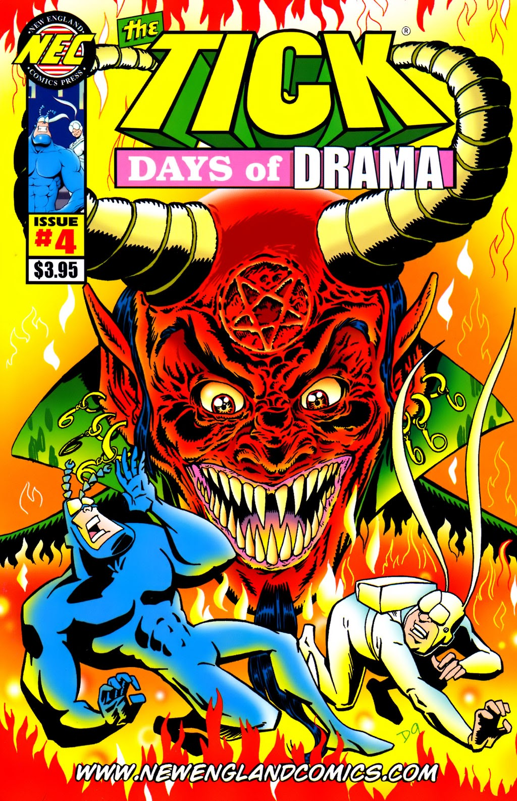 Read online The Tick: Days of Drama comic -  Issue #4 - 1
