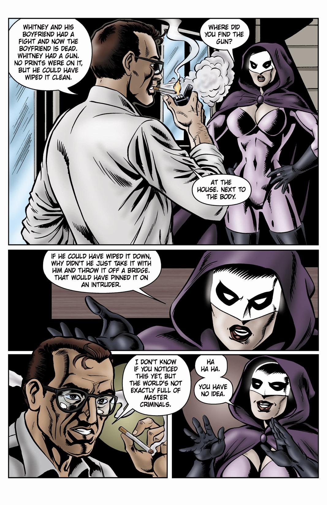 Read online SideChicks comic -  Issue #4 - 25