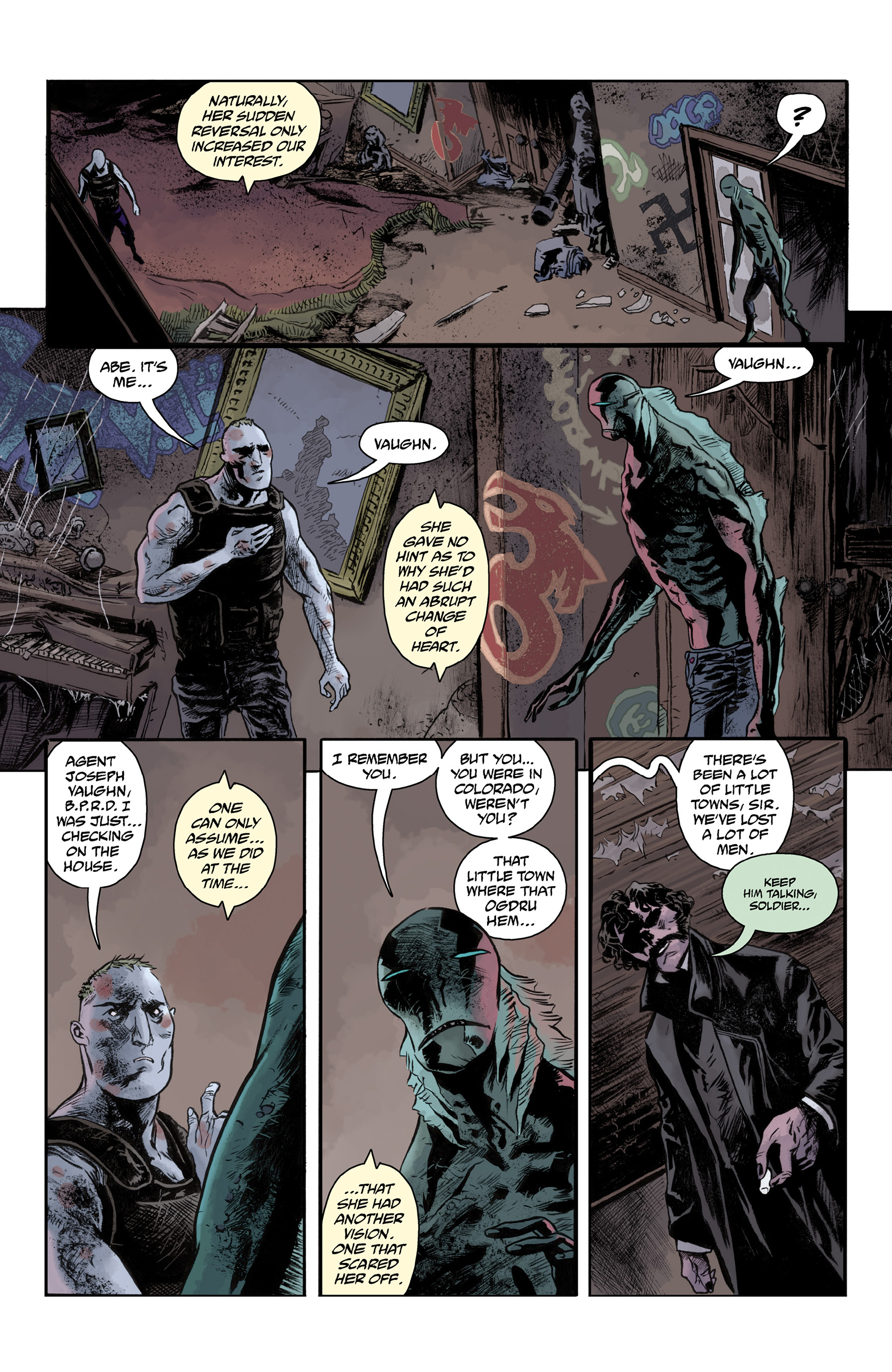 Read online Abe Sapien comic -  Issue #33 - 14