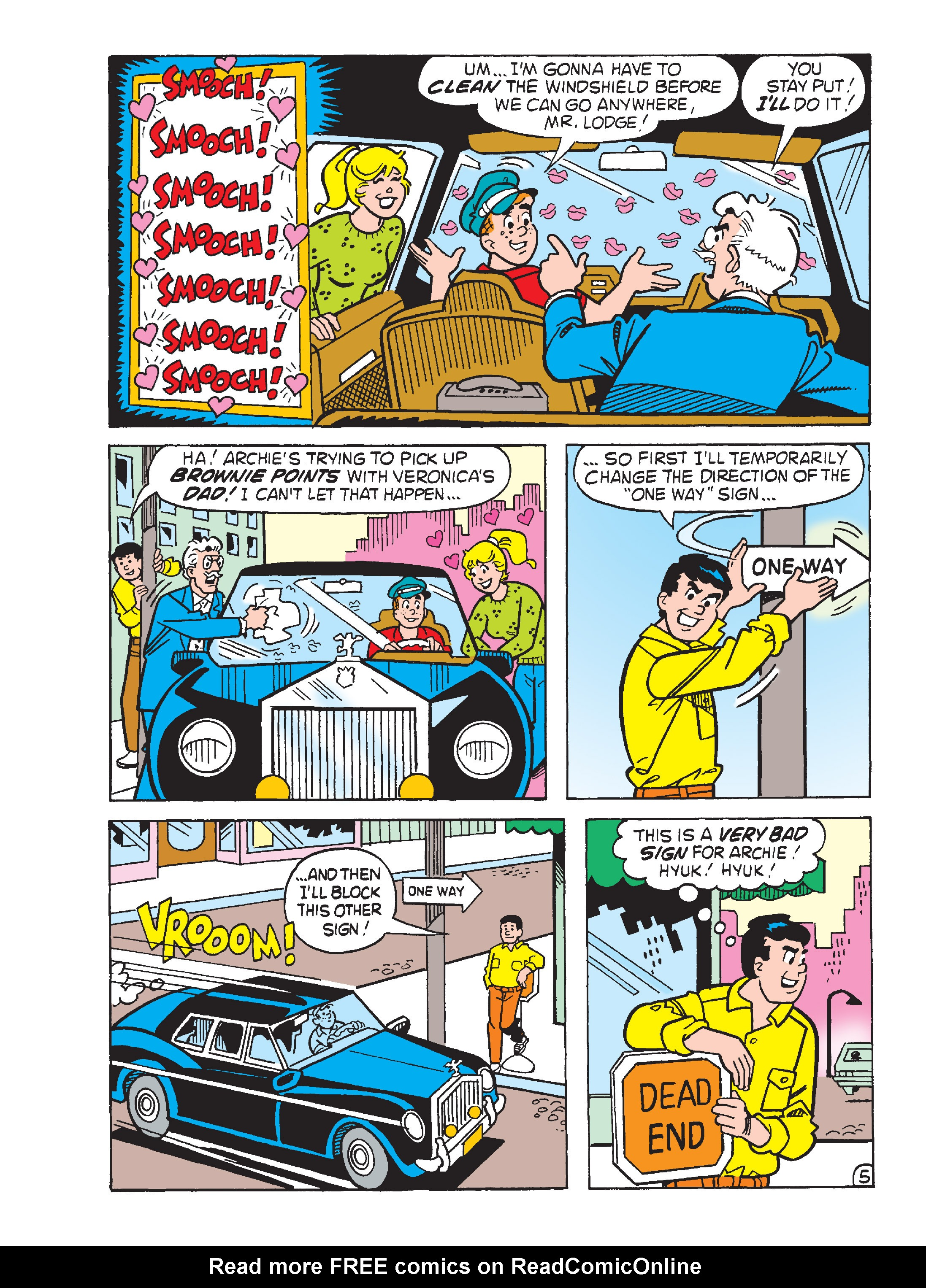 Read online Archie's Funhouse Double Digest comic -  Issue #15 - 201