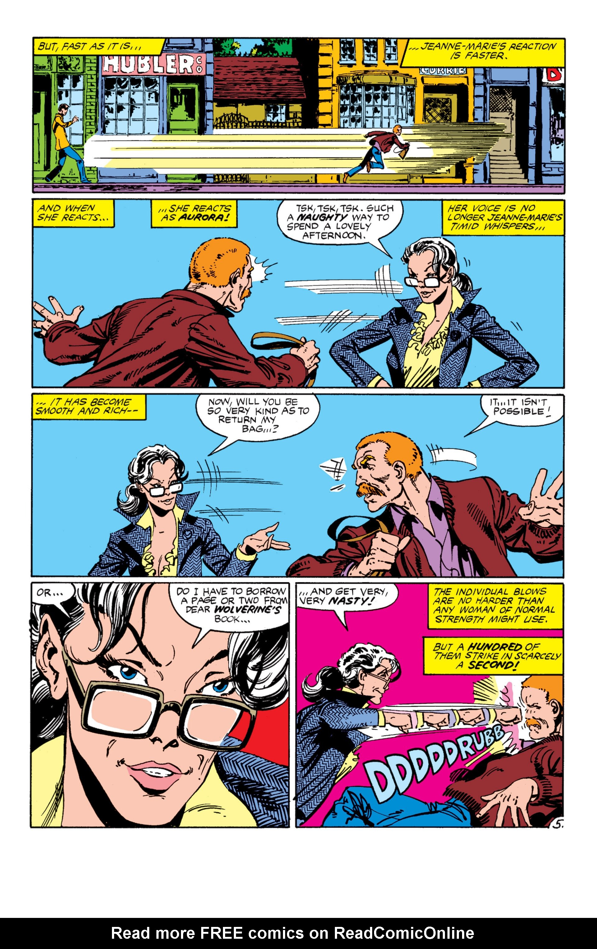 Read online Alpha Flight (1983) comic -  Issue #7 - 6