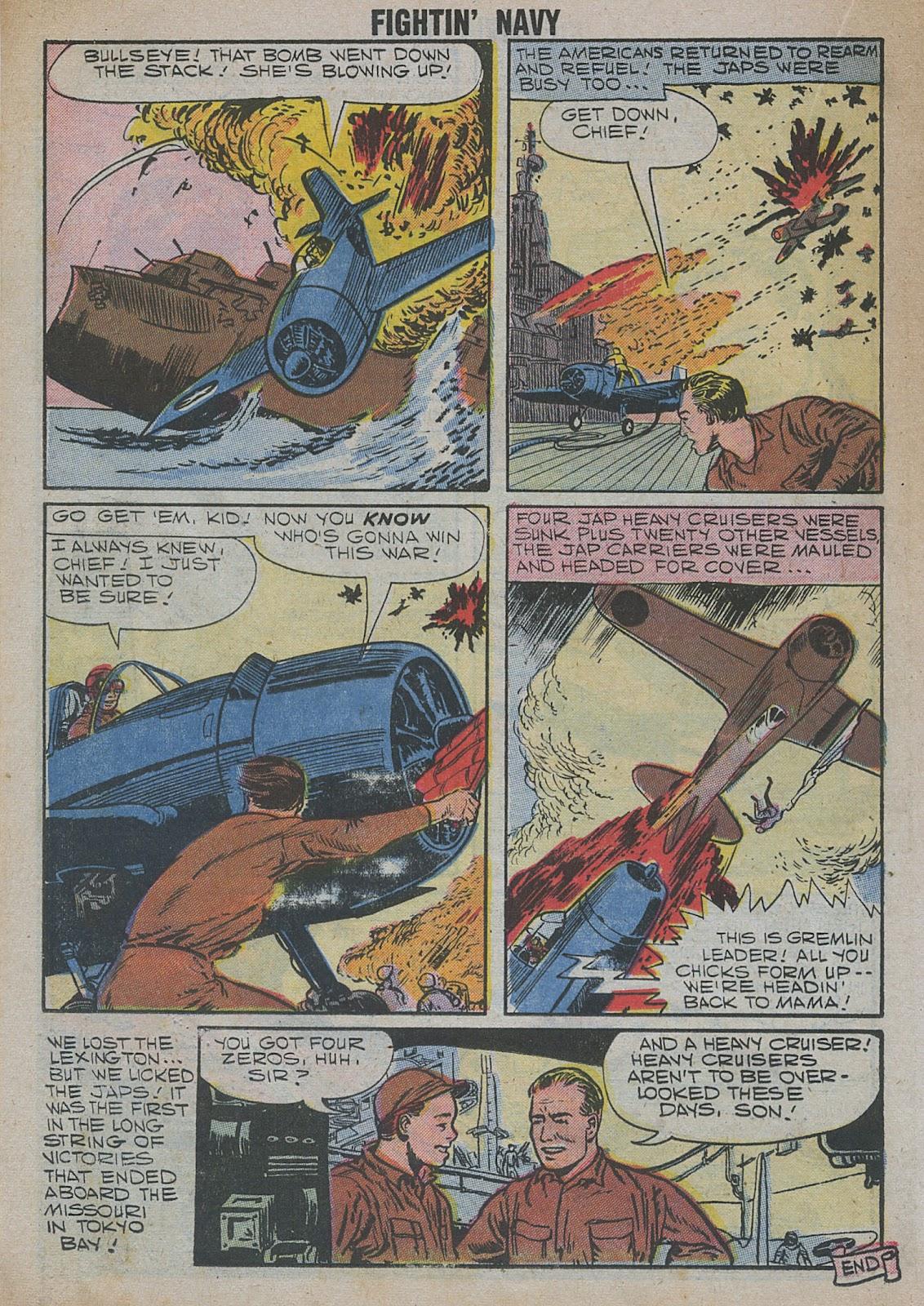 Read online Fightin' Navy comic -  Issue #82 - 42