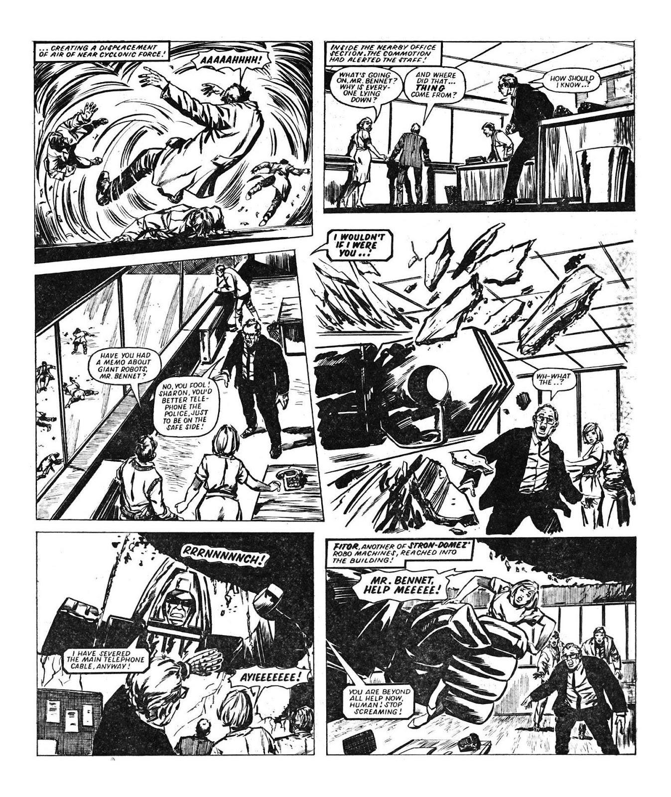 Read online Robo Machines comic -  Issue # TPB - 46
