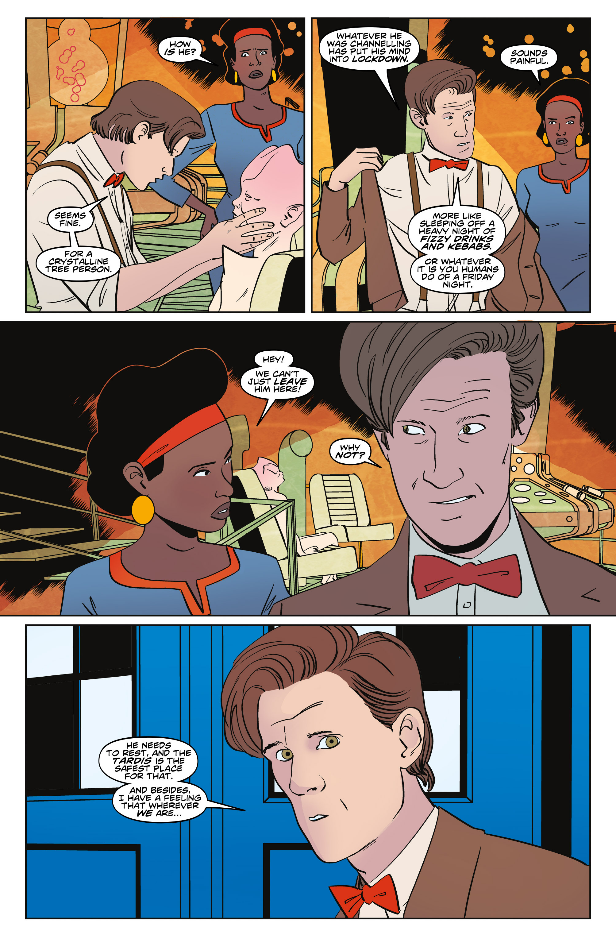 Read online Doctor Who: The Eleventh Doctor Year Three comic -  Issue #5 - 8