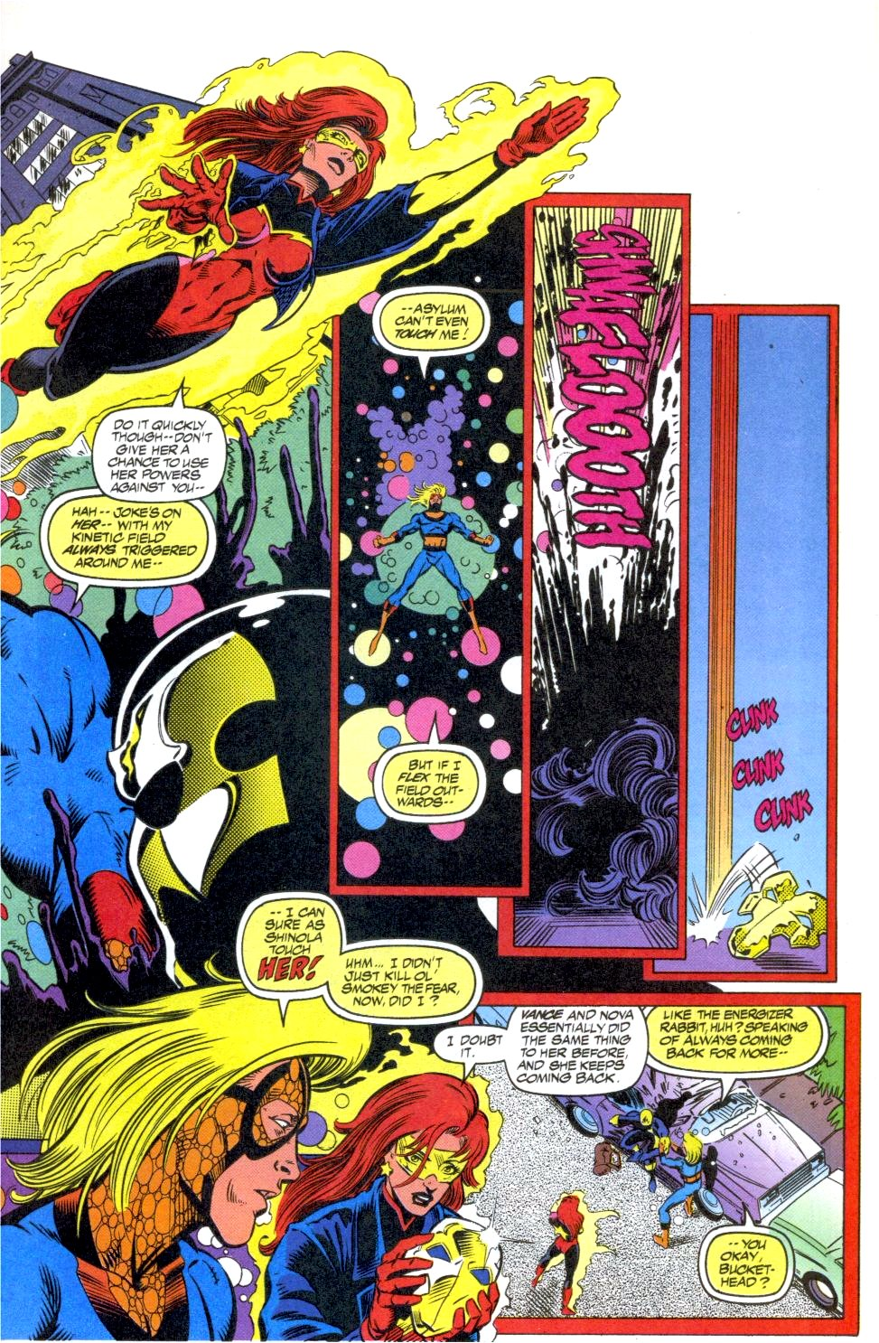 The New Warriors Issue #40 #44 - English 9