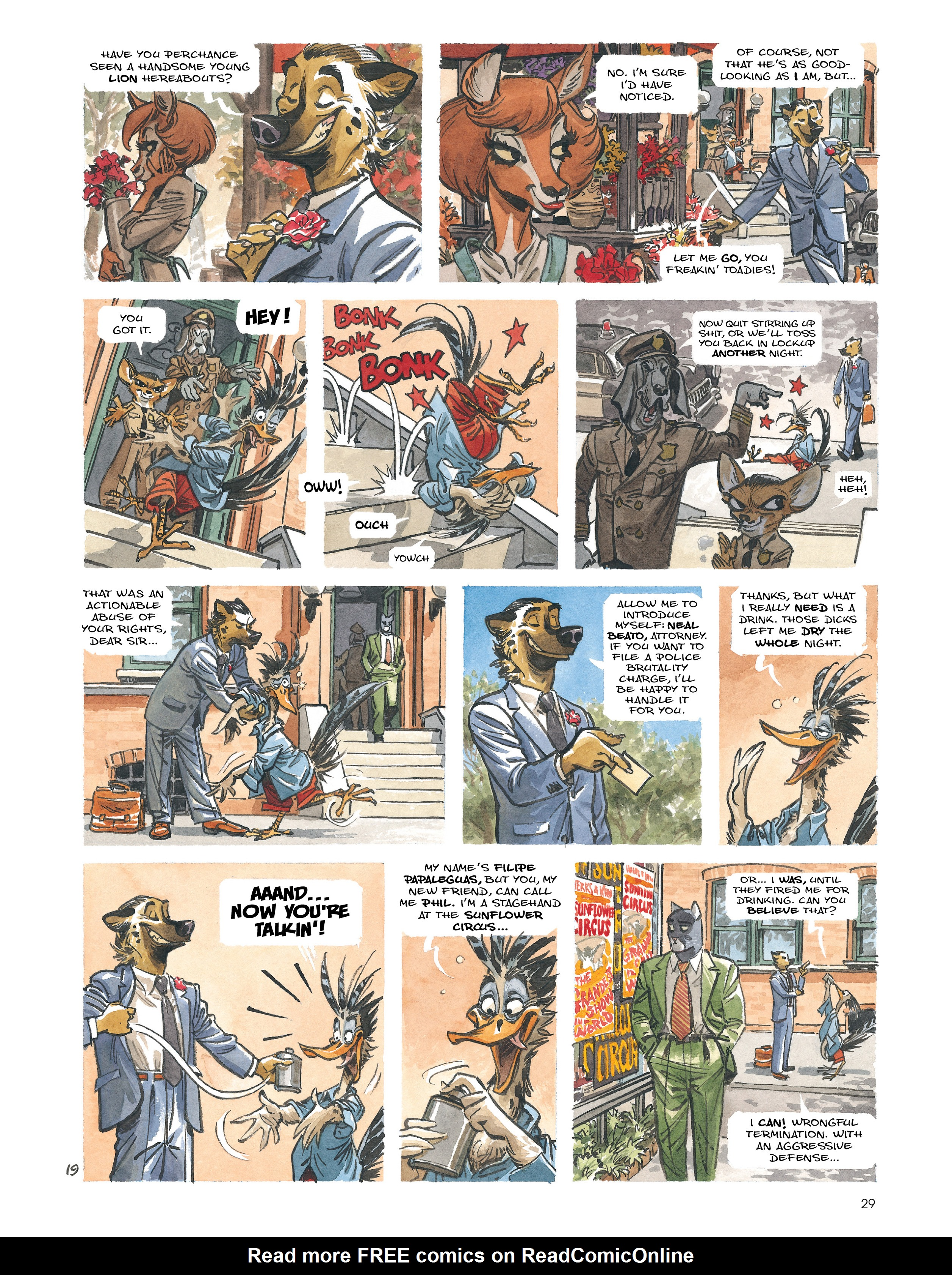 Read online Blacksad: Amarillo comic -  Issue # Full - 28