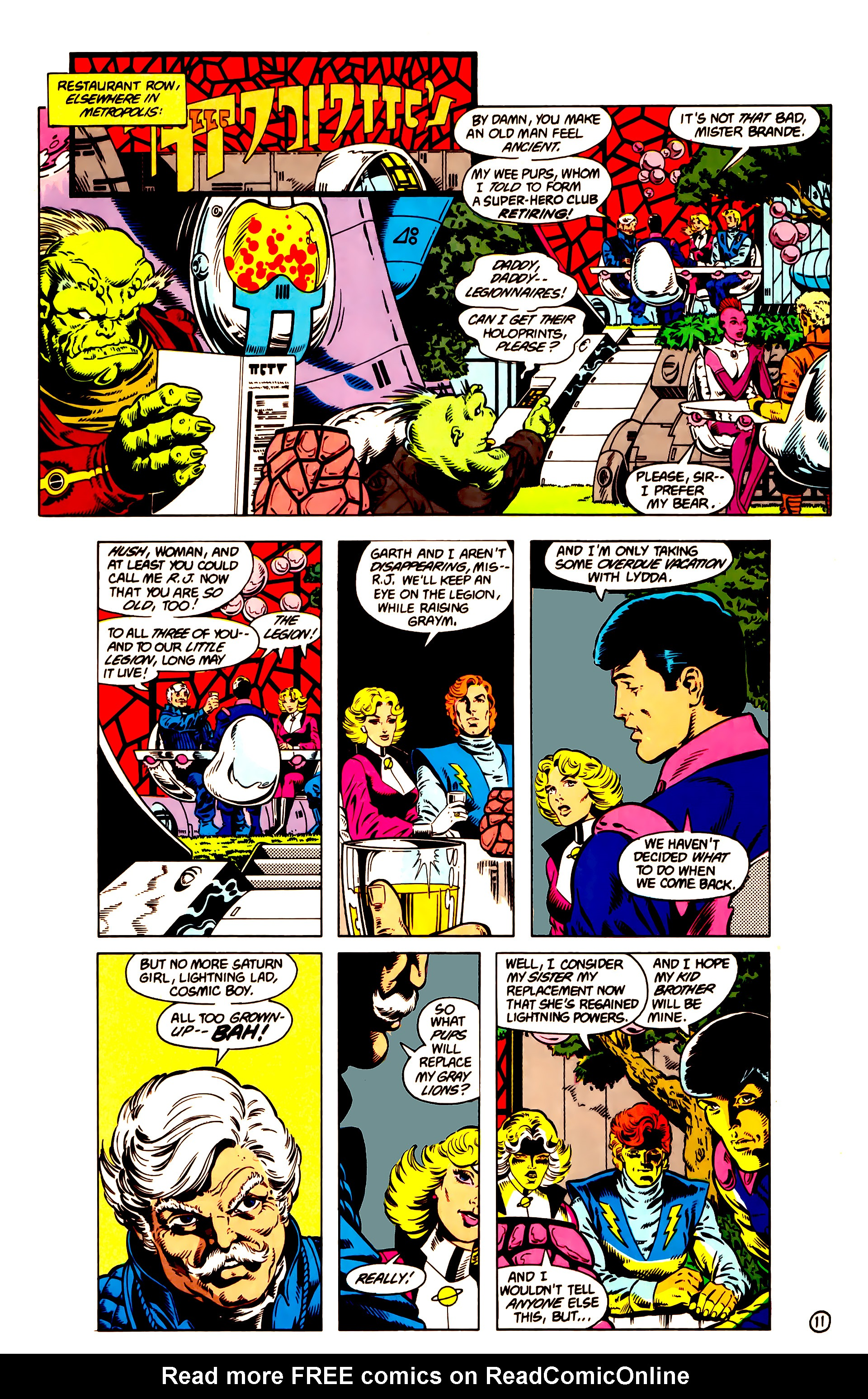 Legion of Super-Heroes (1984) 14 Page 12