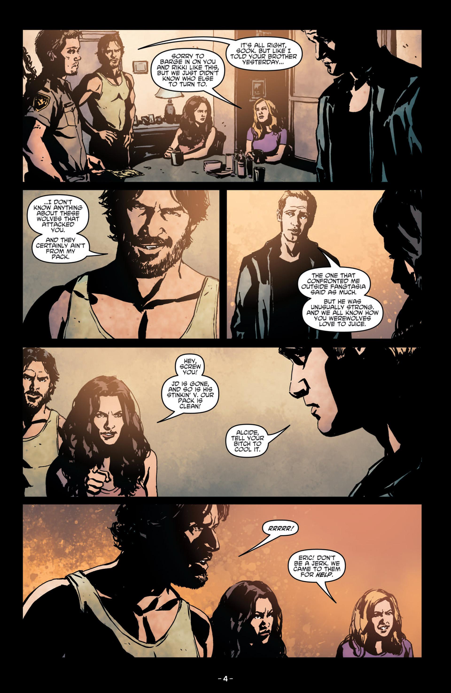 Read online True Blood (2012) comic -  Issue #8 - 6