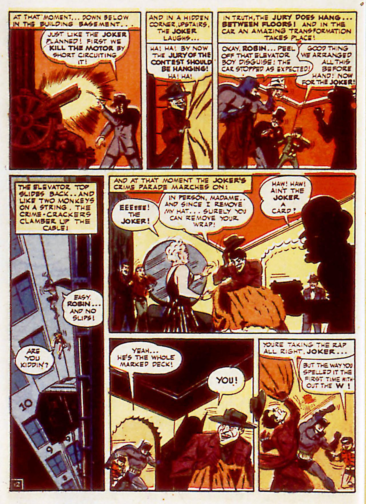 Read online Detective Comics (1937) comic -  Issue #71 - 14