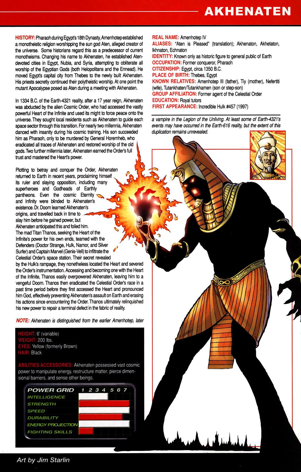 Read online All-New Official Handbook of the Marvel Universe A to Z comic -  Issue #1 - 15