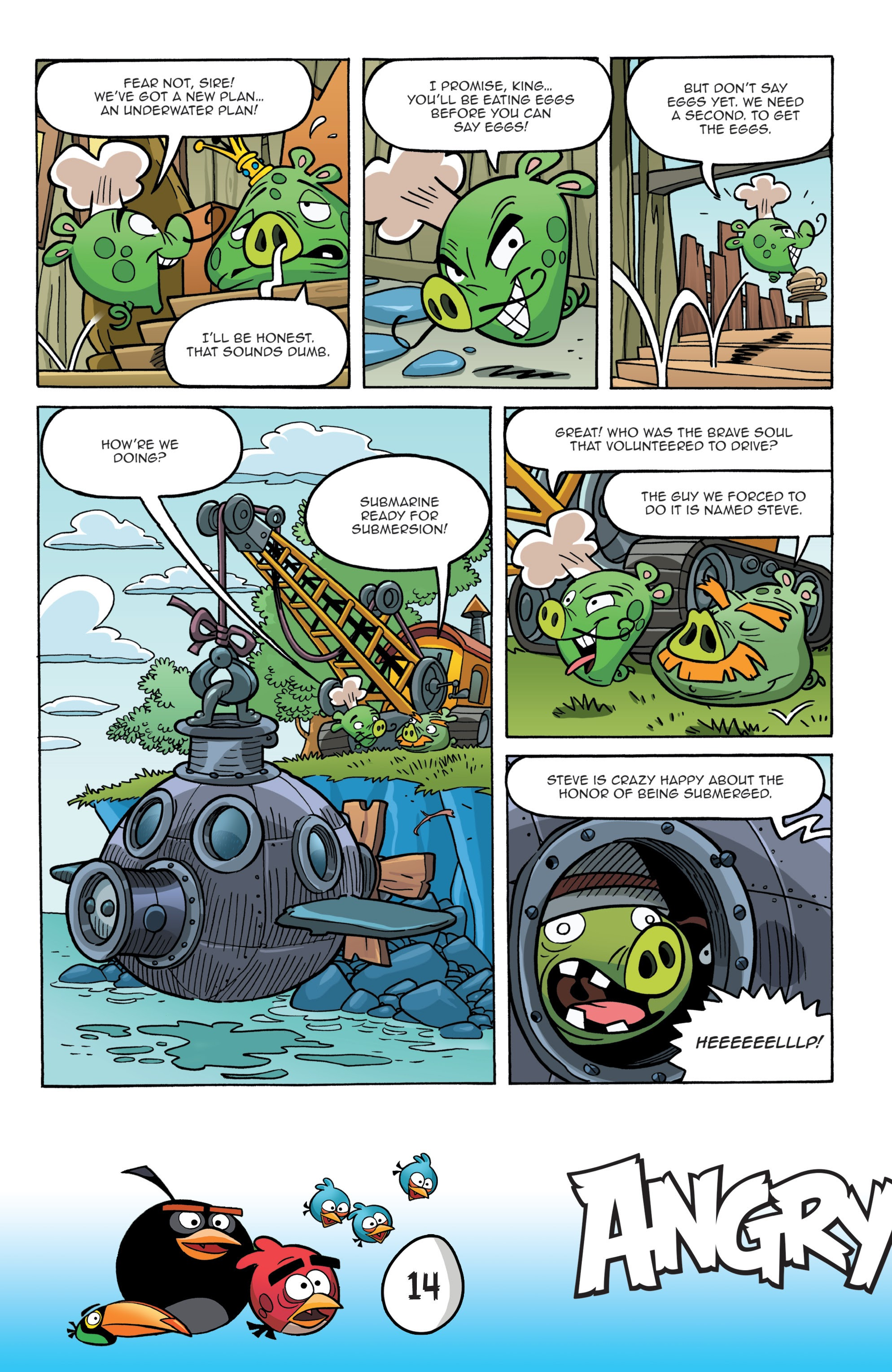 Read online Angry Birds Comics: Game Play comic -  Issue #1 - 16
