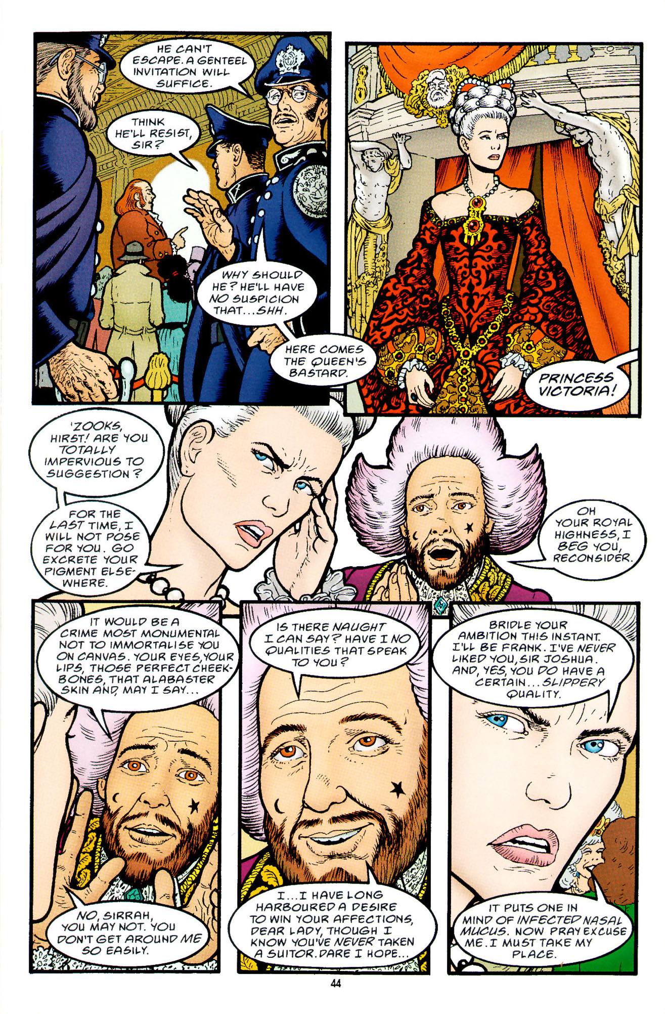 Read online Heart of Empire comic -  Issue #2 - 12