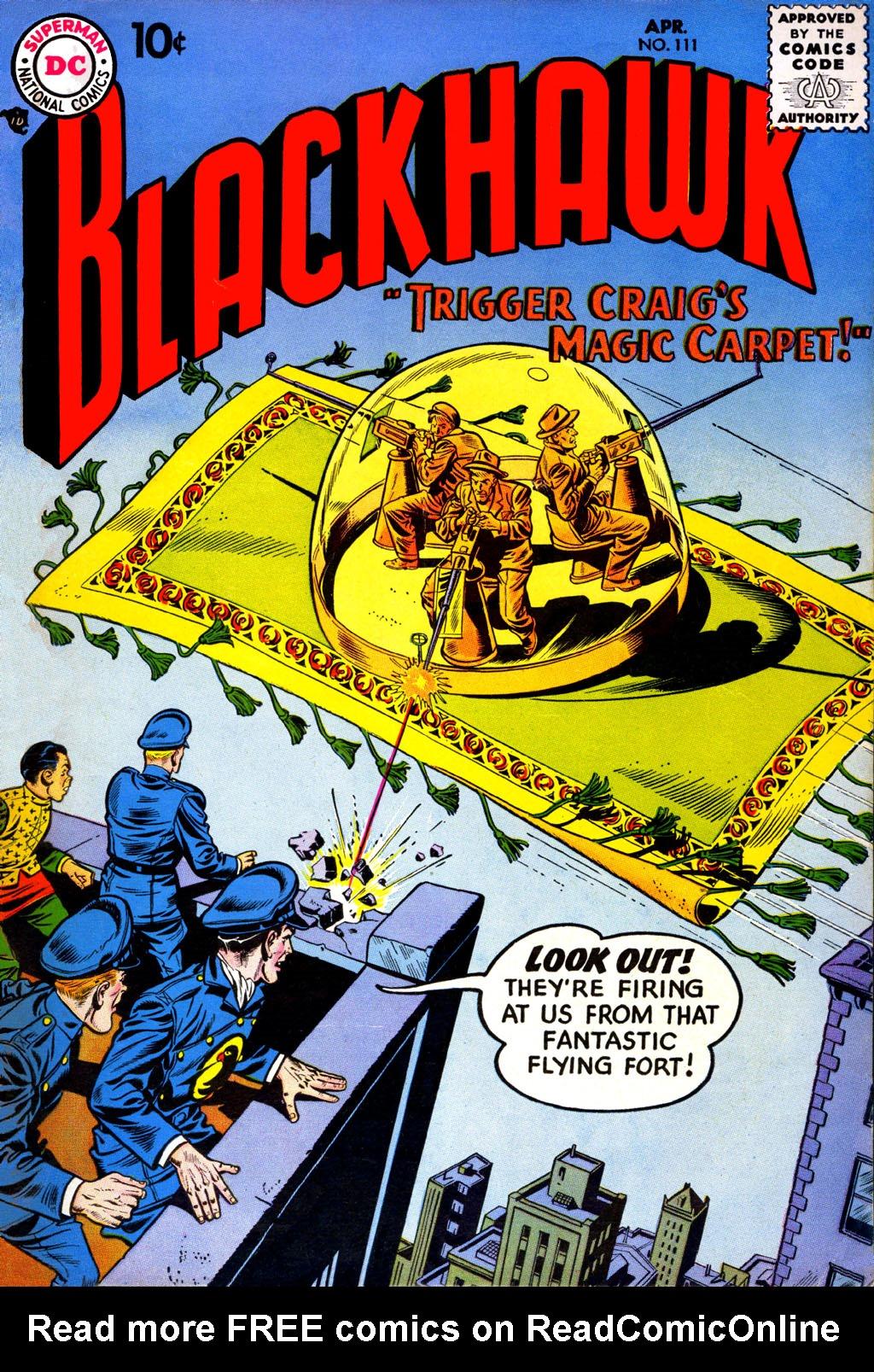 Blackhawk (1957) 111 Page 1