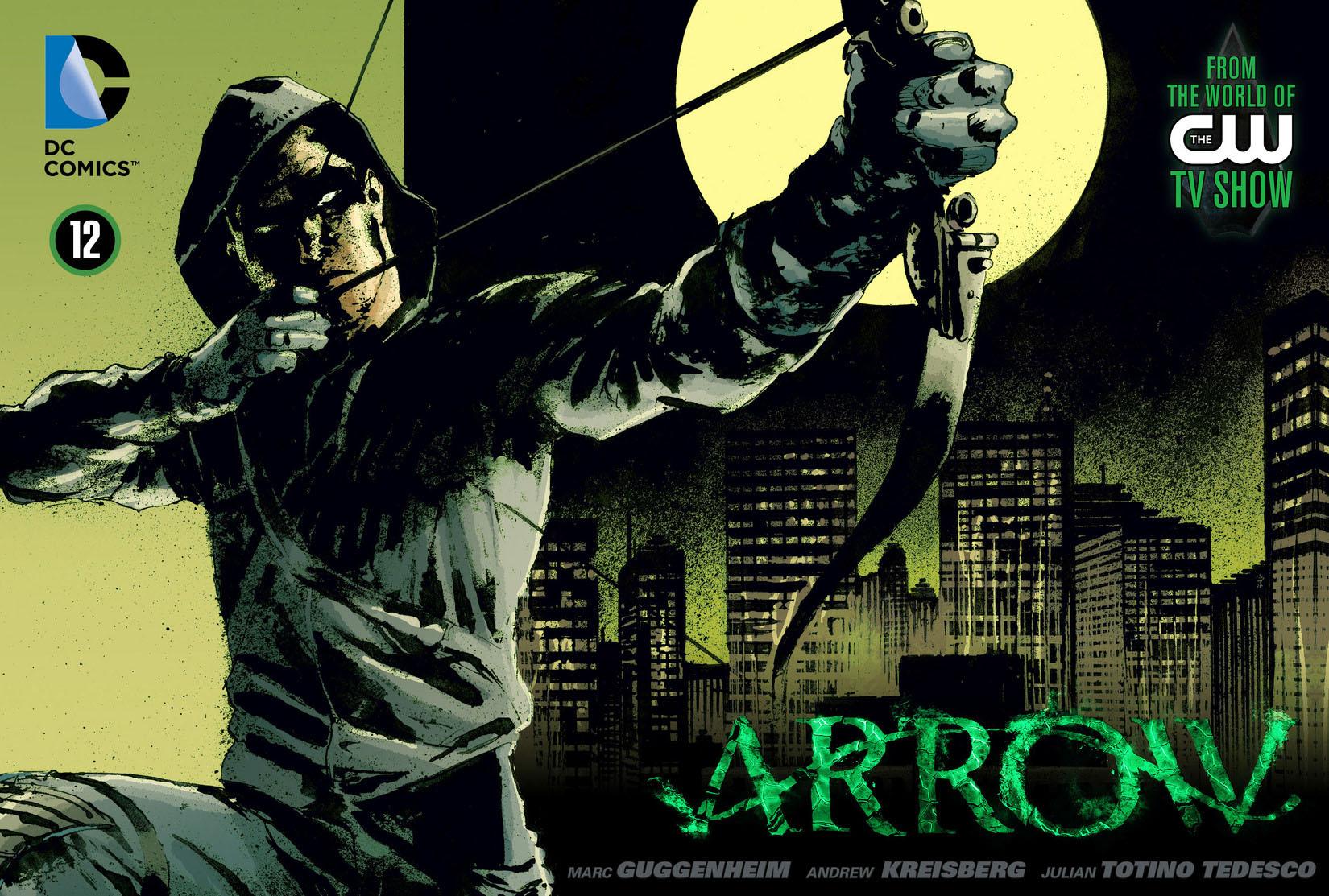 Read online Arrow [II] comic -  Issue #12 - 1