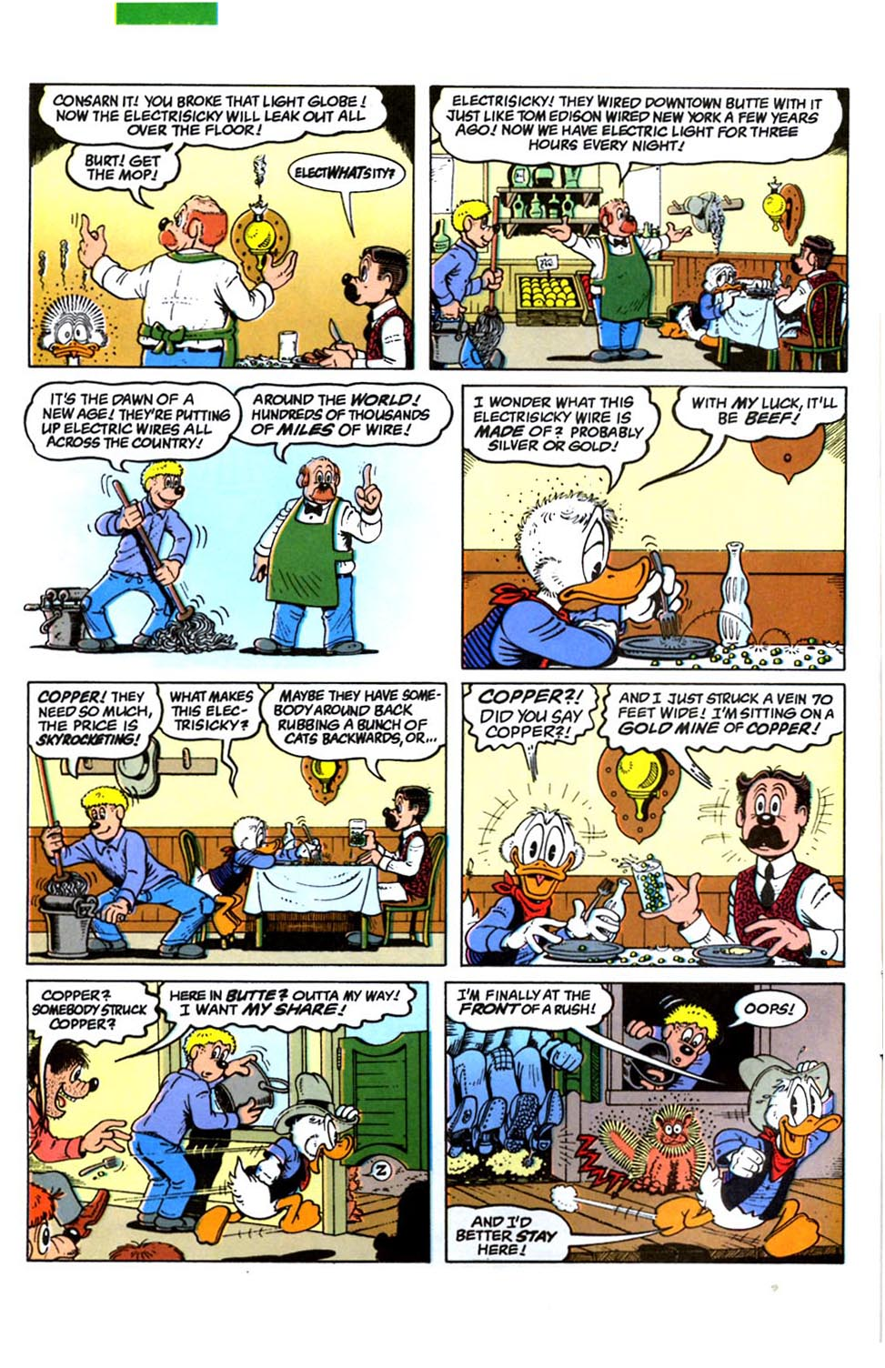 Read online Uncle Scrooge (1953) comic -  Issue #288 - 6