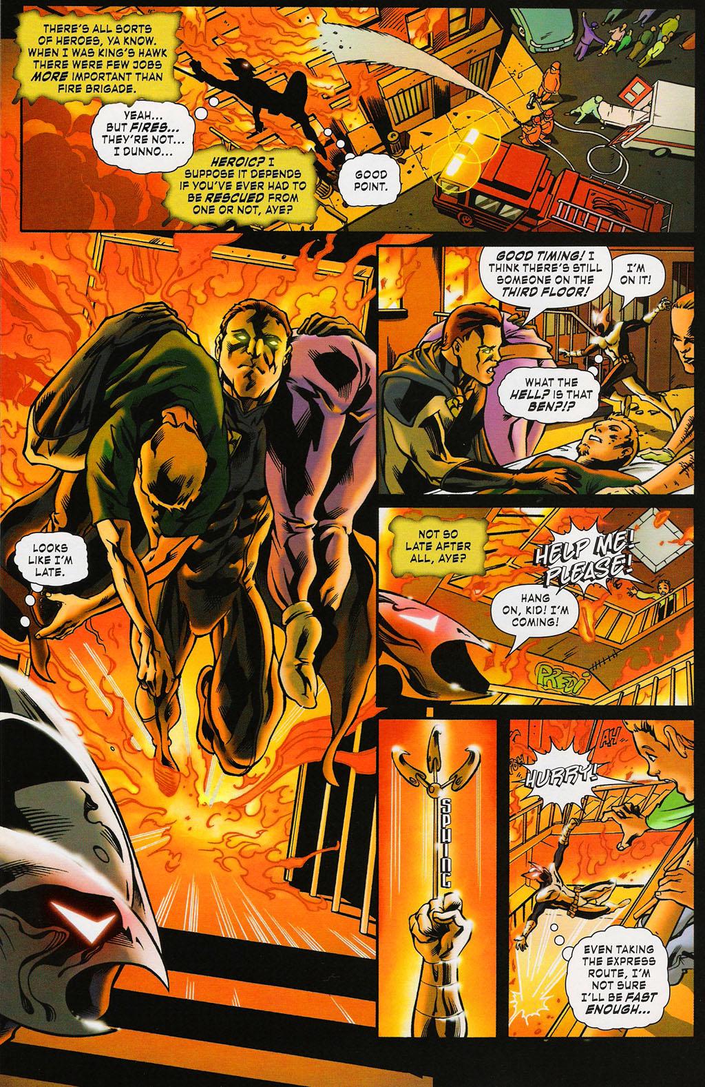Read online ShadowHawk (2005) comic -  Issue #3 - 10