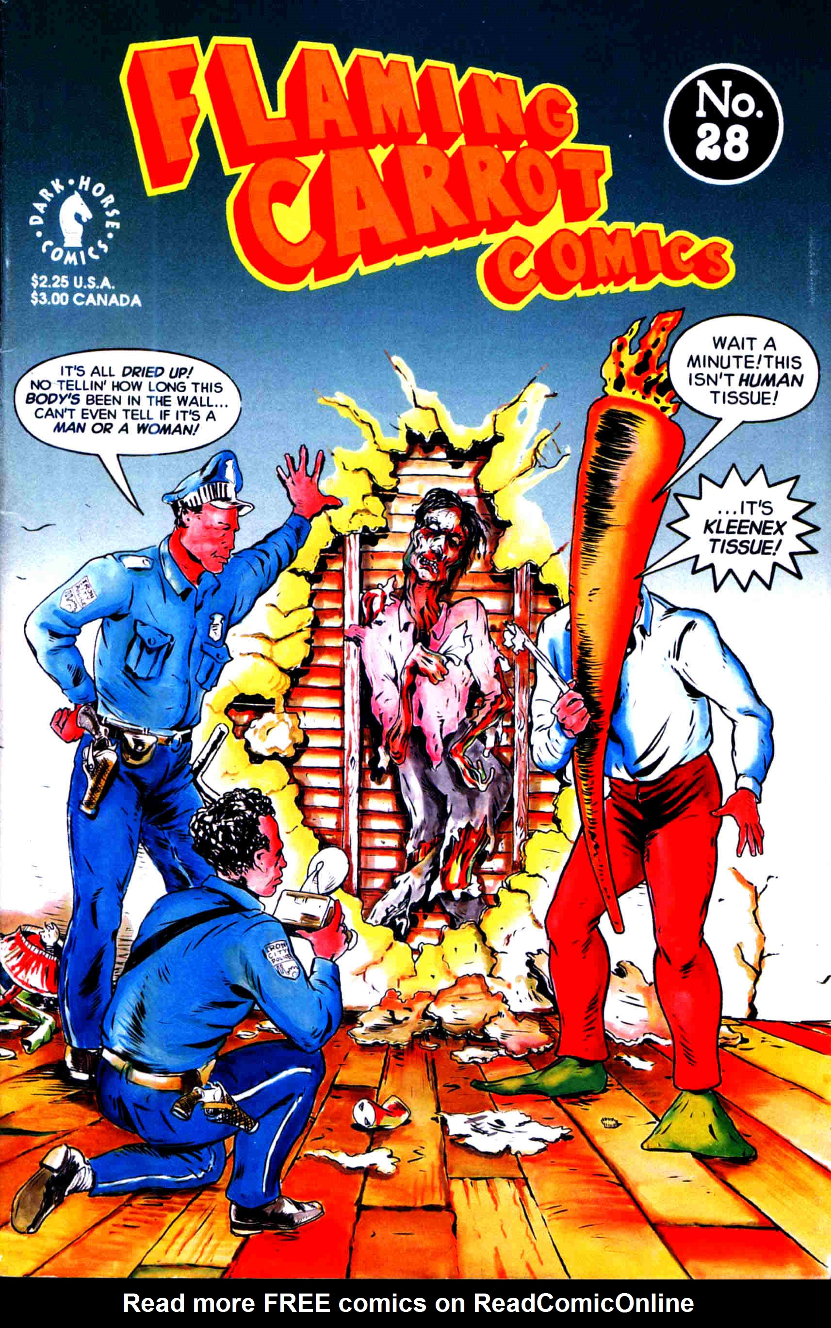 Read online Flaming Carrot Comics (1988) comic -  Issue #28 - 1