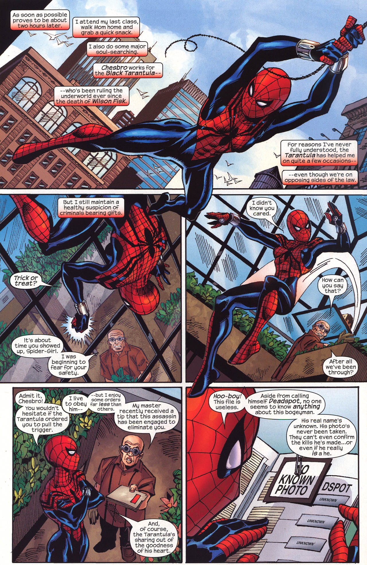 Read online Amazing Spider-Girl comic -  Issue #16 - 21