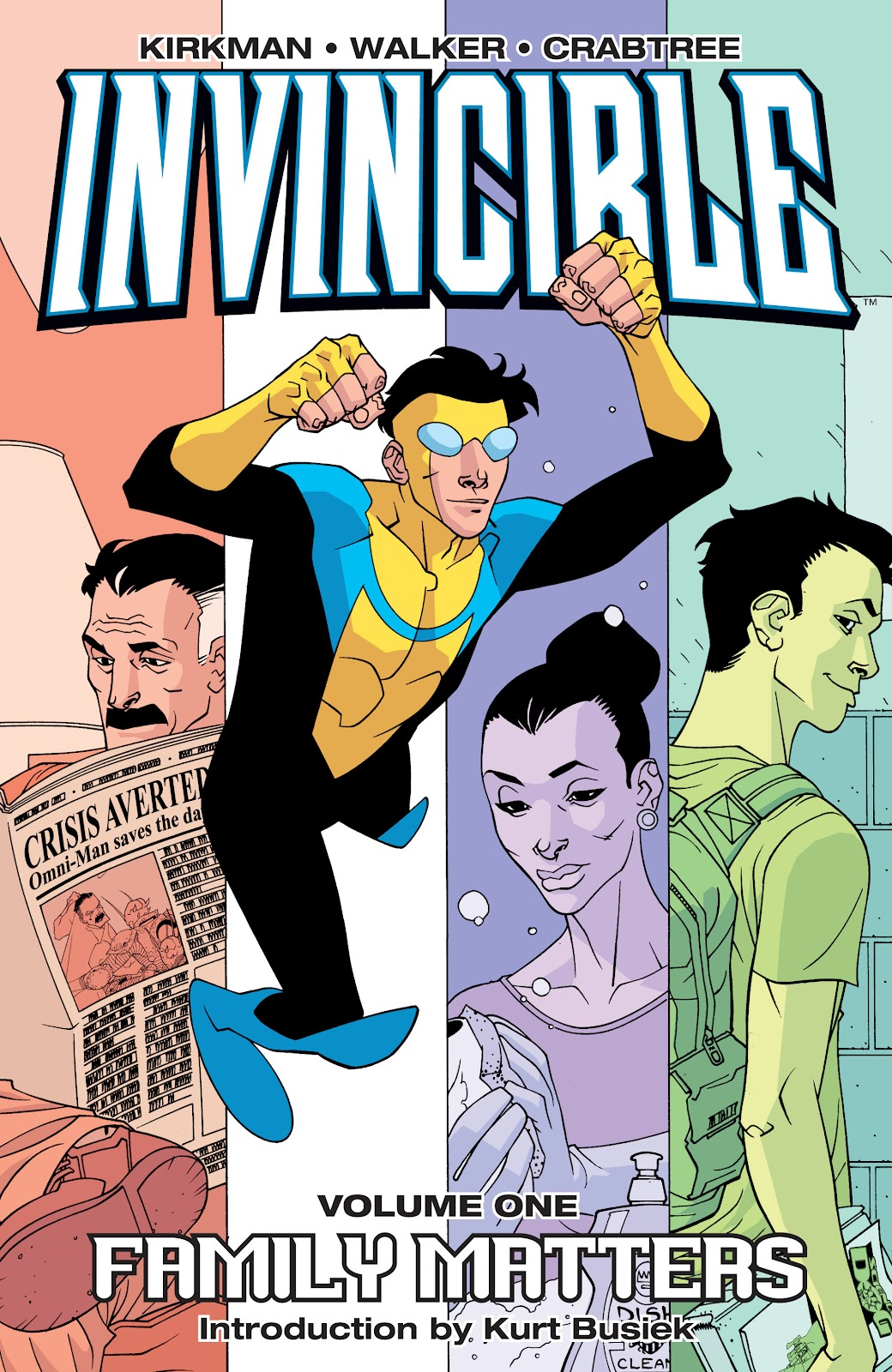 Invincible (2003) _TPB_1_-_Family_matters Page 1