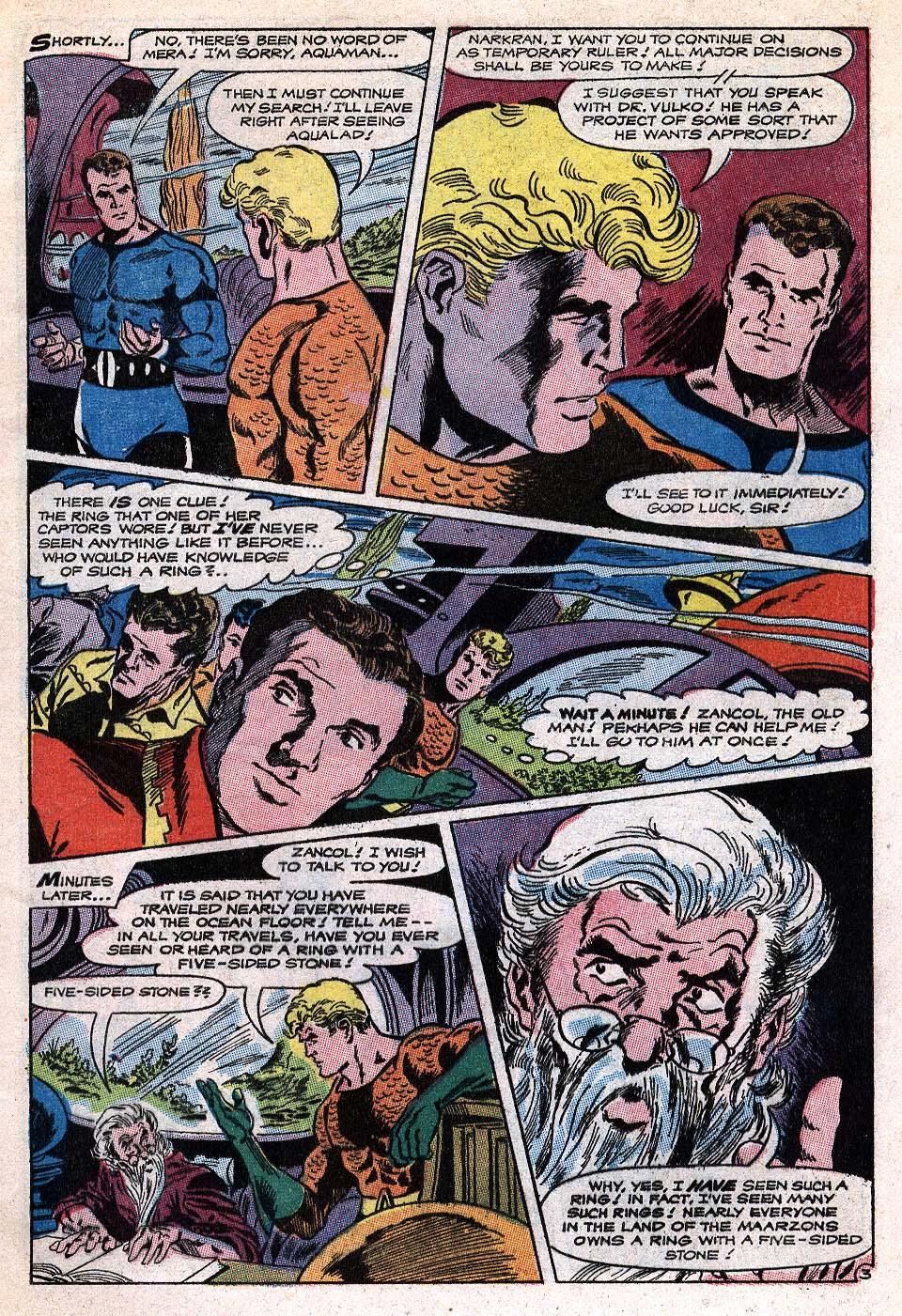 Read online Aquaman (1962) comic -  Issue #41 - 5