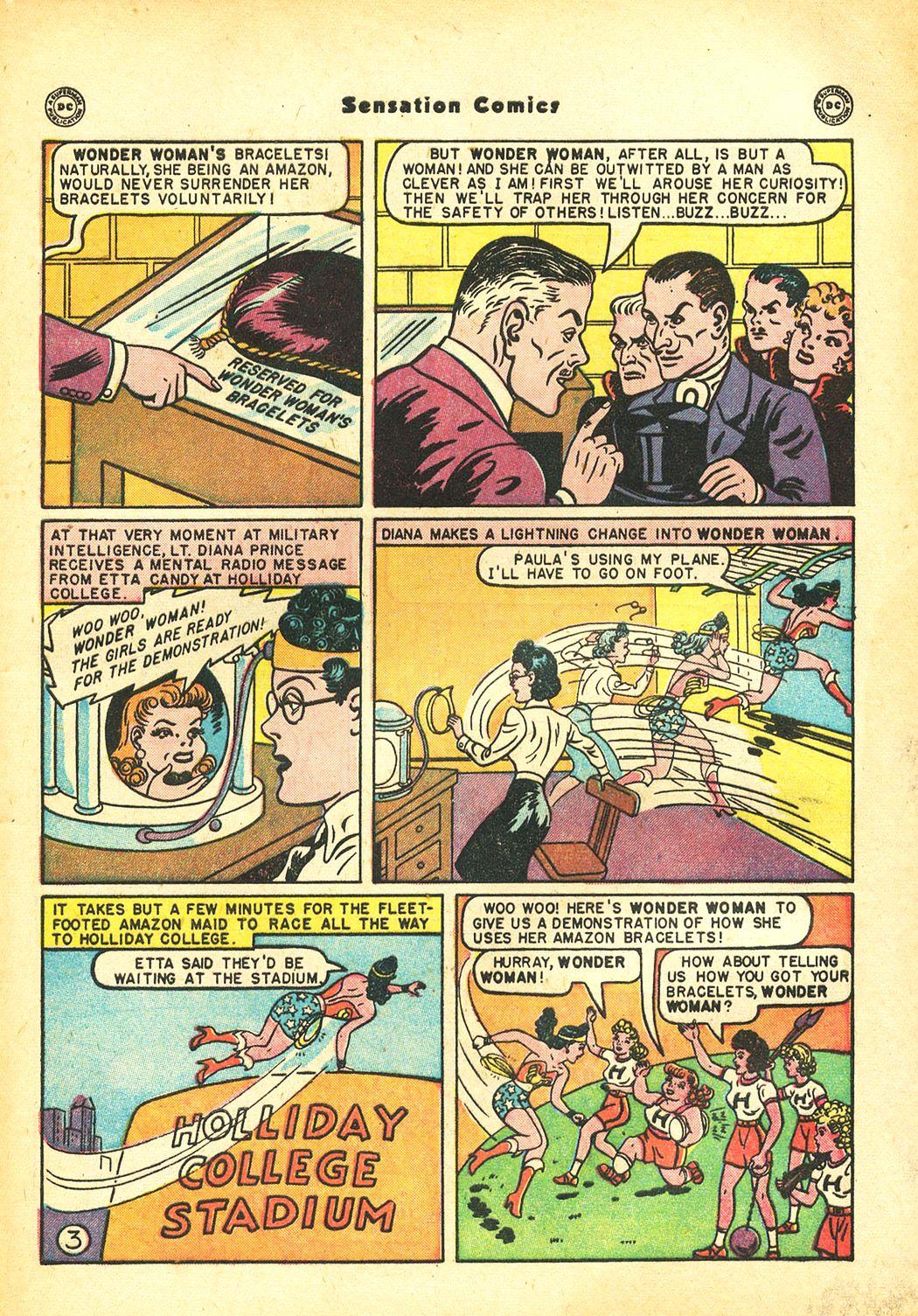 Read online Sensation (Mystery) Comics comic -  Issue #86 - 5