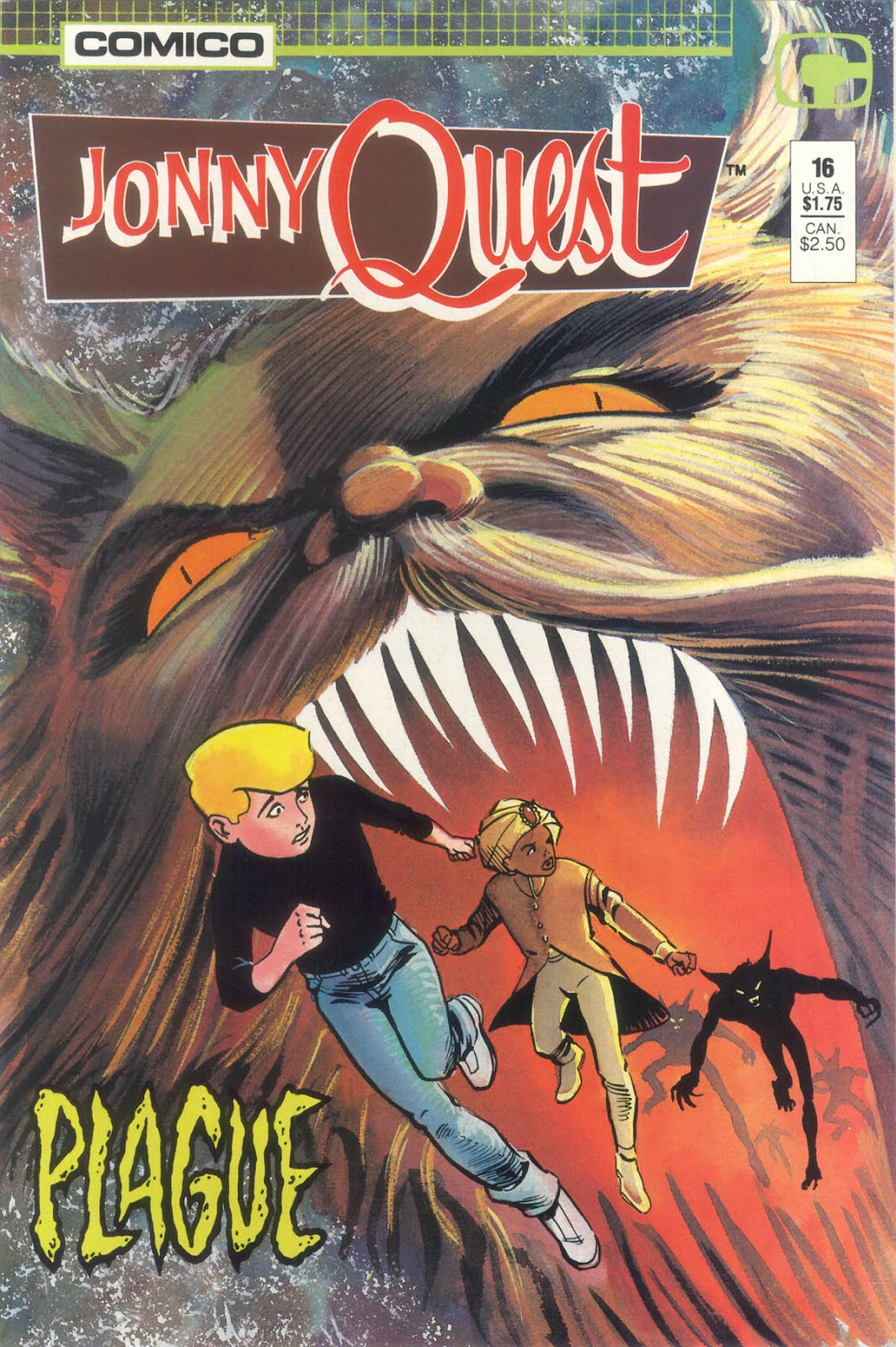 Jonny Quest (1986) issue 16 - Page 1