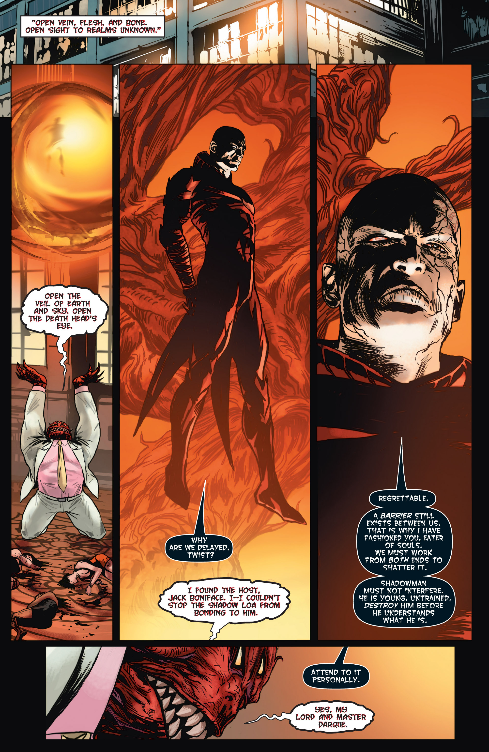 Read online Shadowman (2012) comic -  Issue #2 - 22
