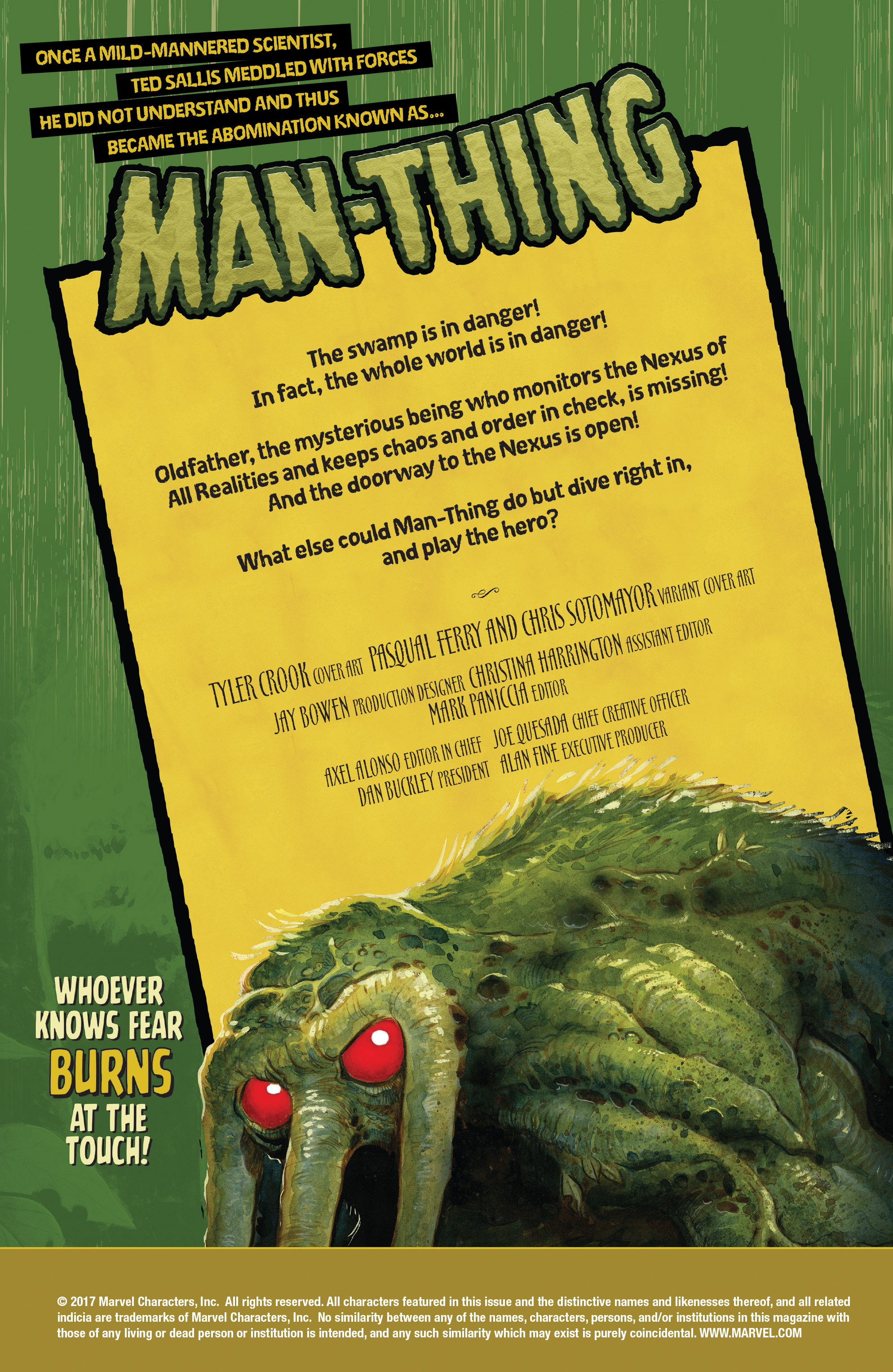 Read online Man-Thing (2017) comic -  Issue #4 - 2