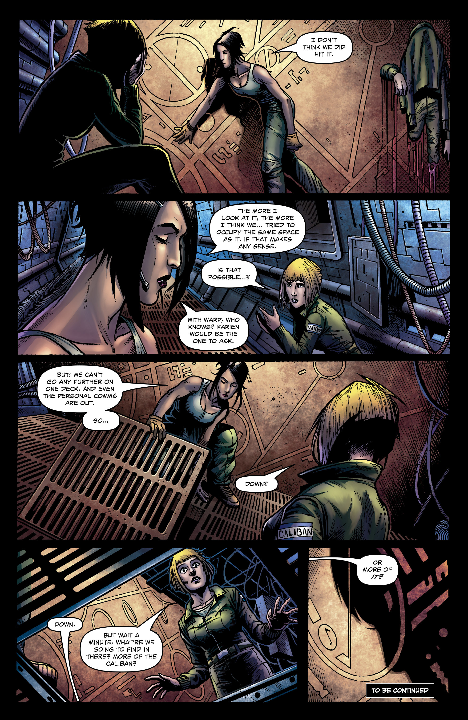 Read online Caliban comic -  Issue #1 - 27